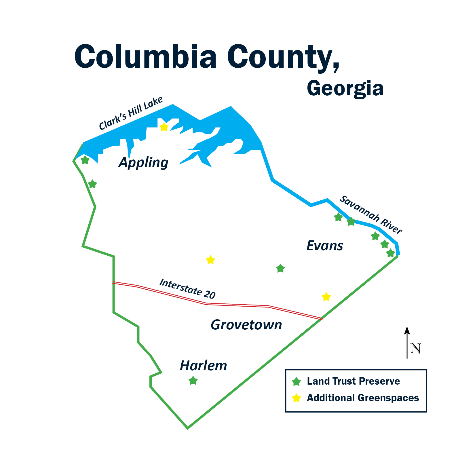 Columbia County | The Central Savannah River Land Trust regarding Columbia County Ga Calendar