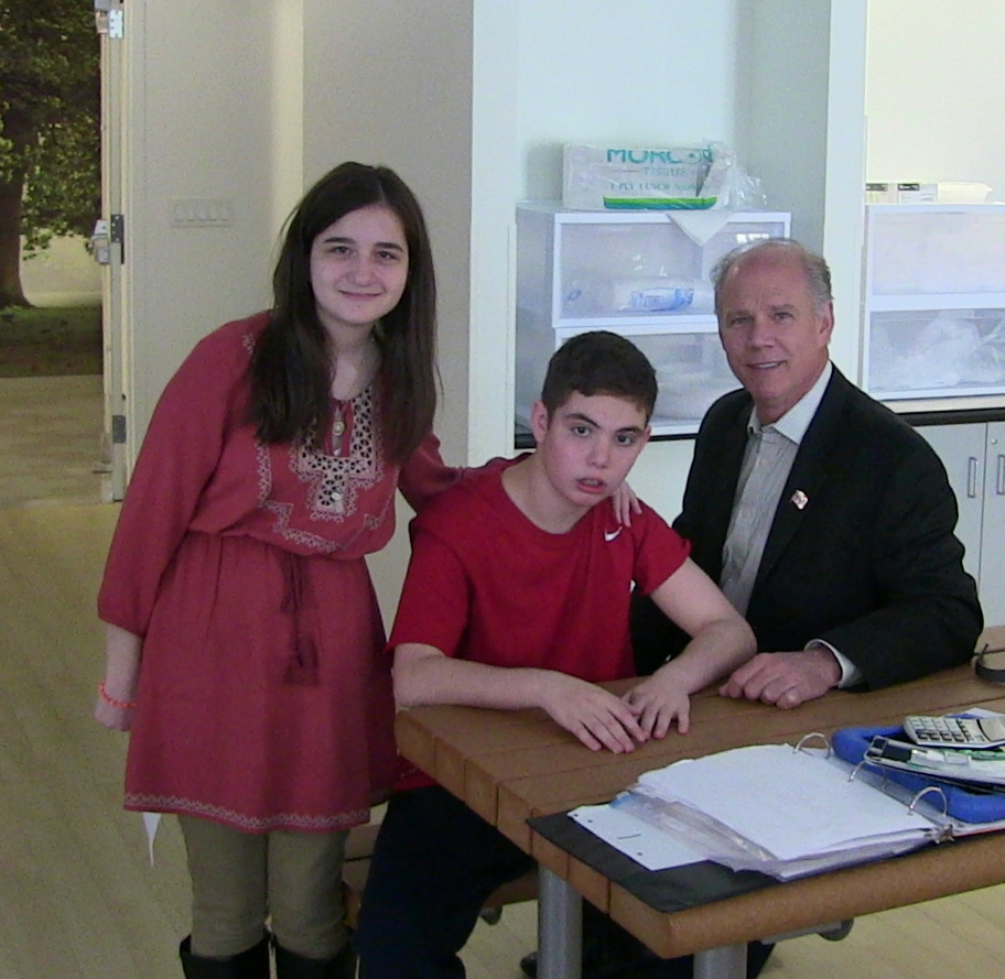 Congressman Dan Donovan Visits Eden Ii As 'principal For The regarding Eden 2 School