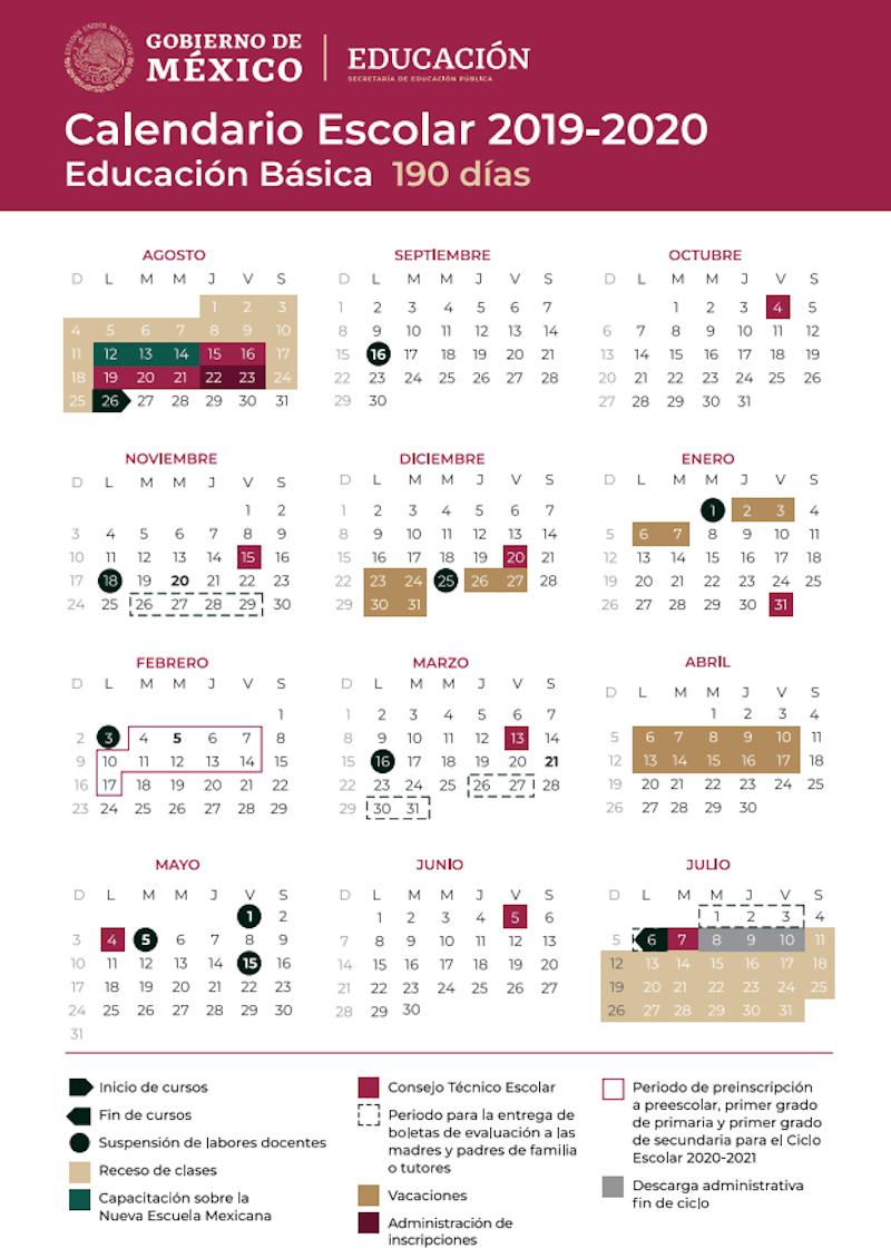 Conoce Los Días Festivos Durante Este Período Escolar within Calendario Escolar Sep 2020 2020