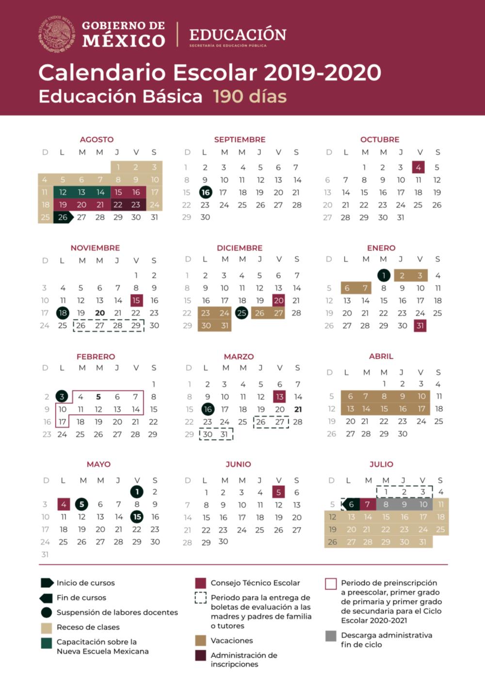 Costa Verde International School in Sep Calendario 2020