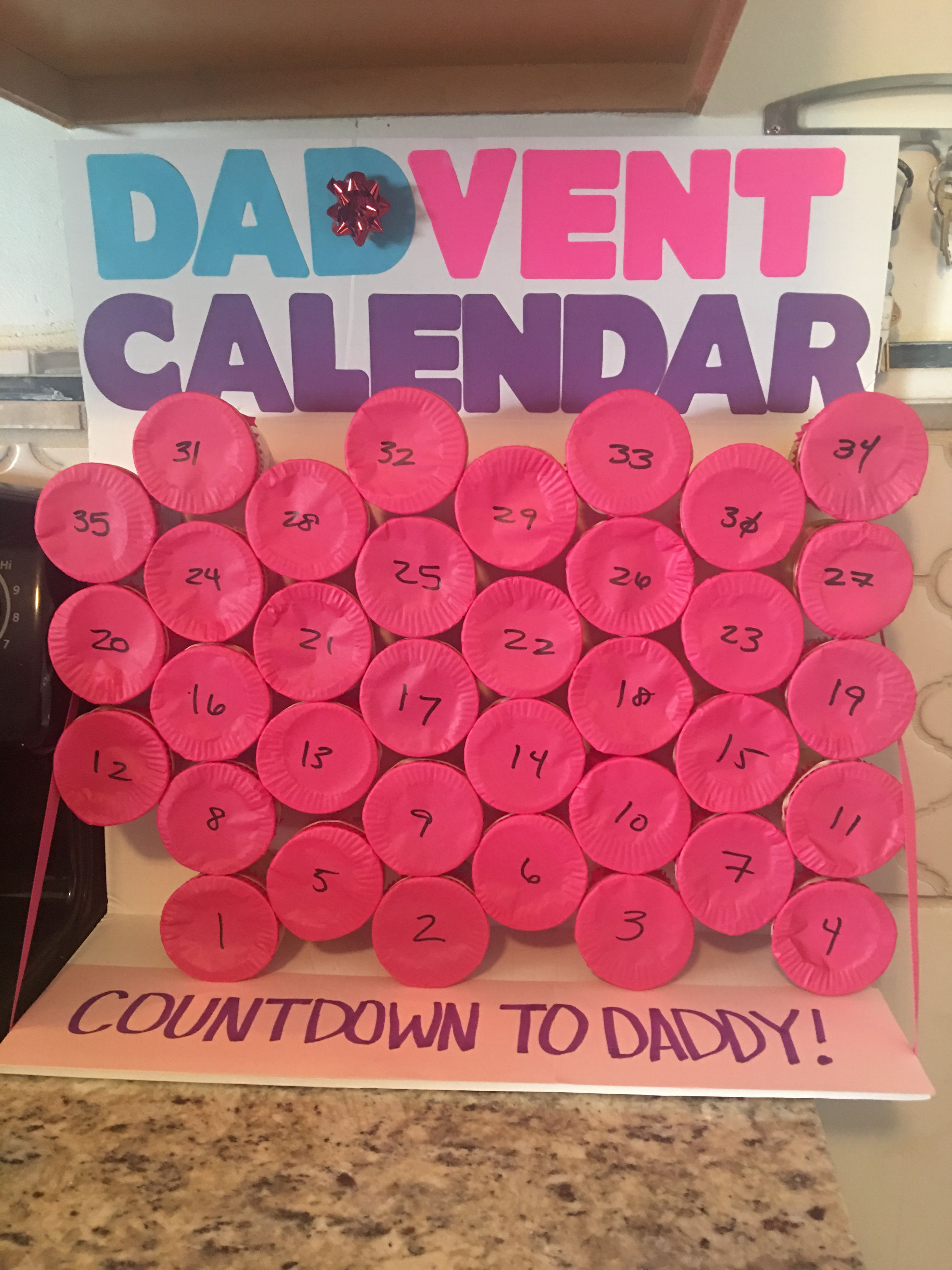 Countdown Calendar To Daddy Returning From Deployment. This with regard to Deployment Countdown Calendar