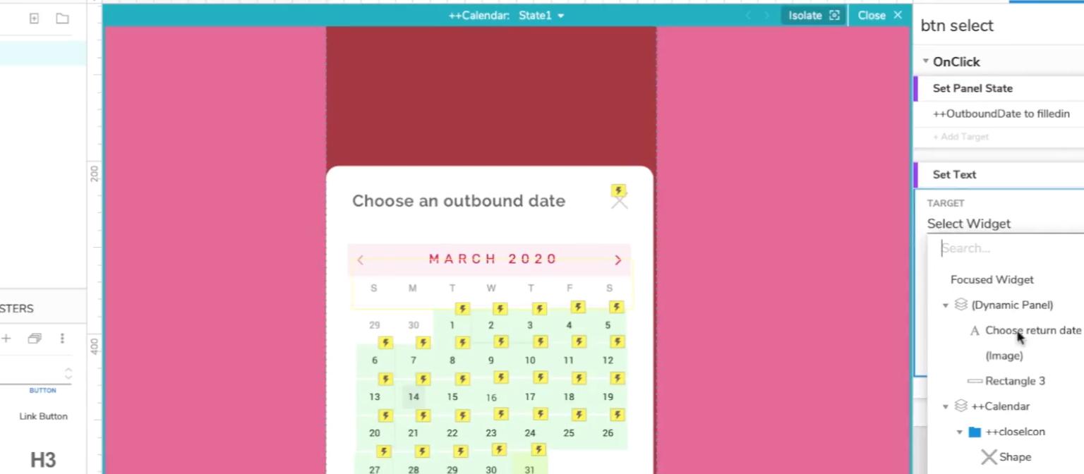 Creating A Calendar Date Picker In Axure  Vaexperience Blog regarding Axure Calendar Widget