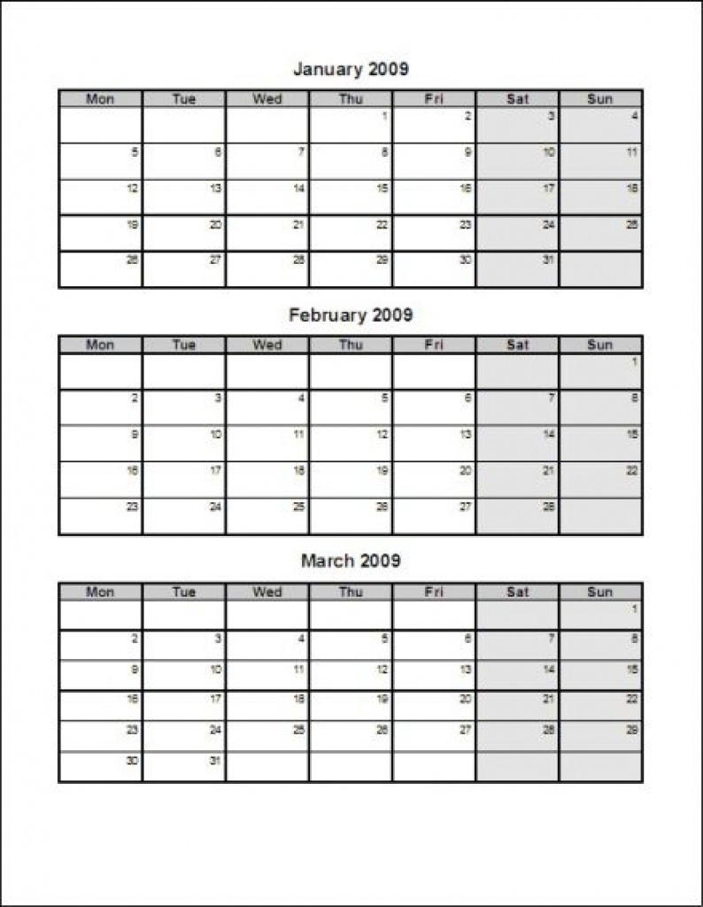 Crush 3 Month Printable Calendars | Kenzi's Blog intended for Printable Calendar 3 Months Per Page