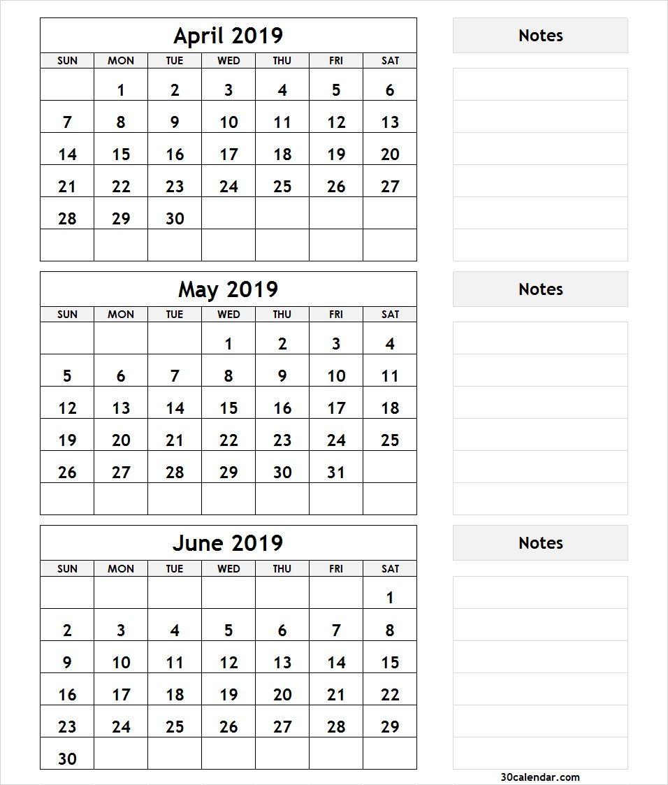Crush 3 Month Printable Calendars | Kenzi's Blog with Printable 3 Month Calendar