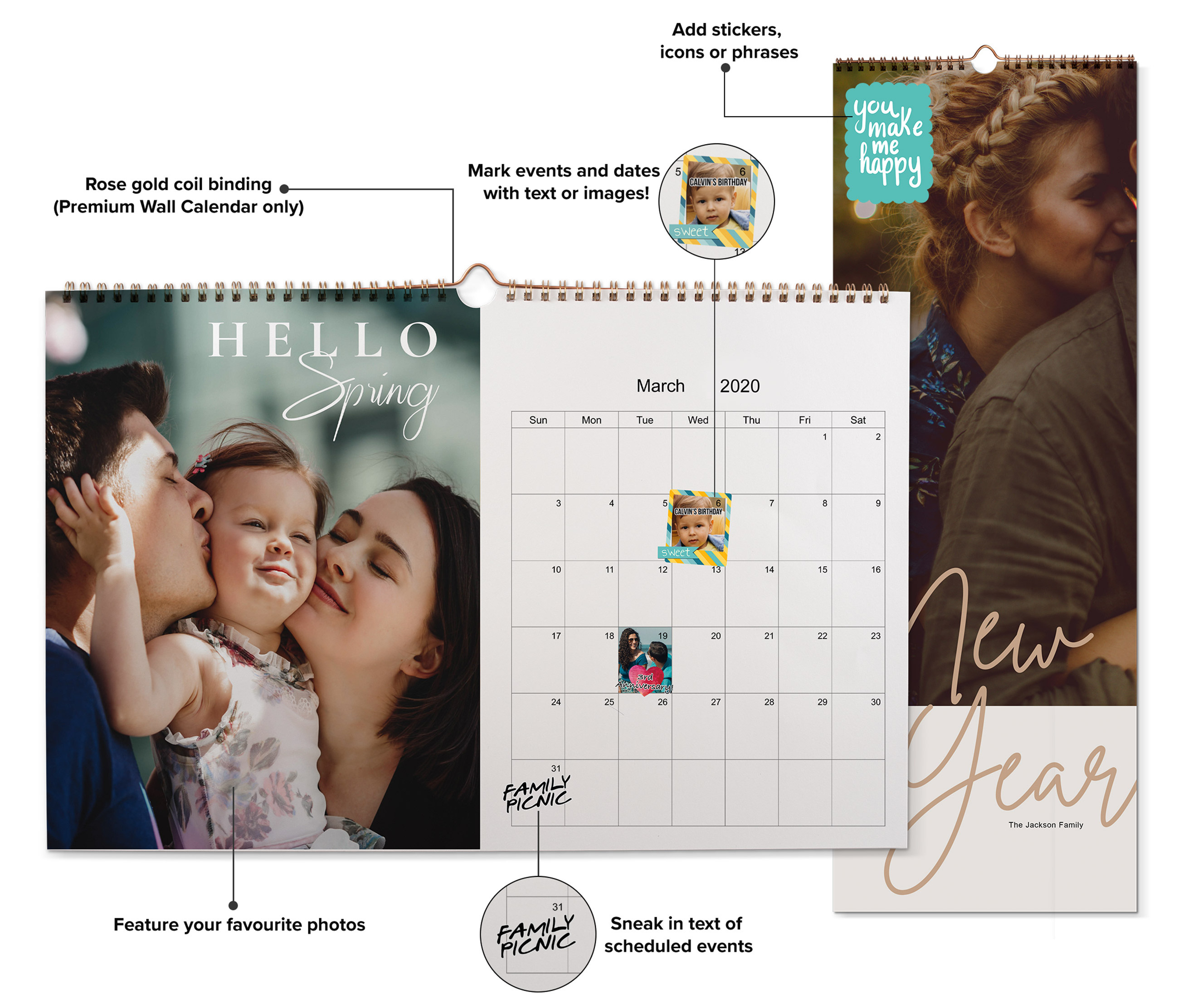 Custom Photo Calendars Philippines | Make Your Own @40% Off with Calendar Printing Services Philippines