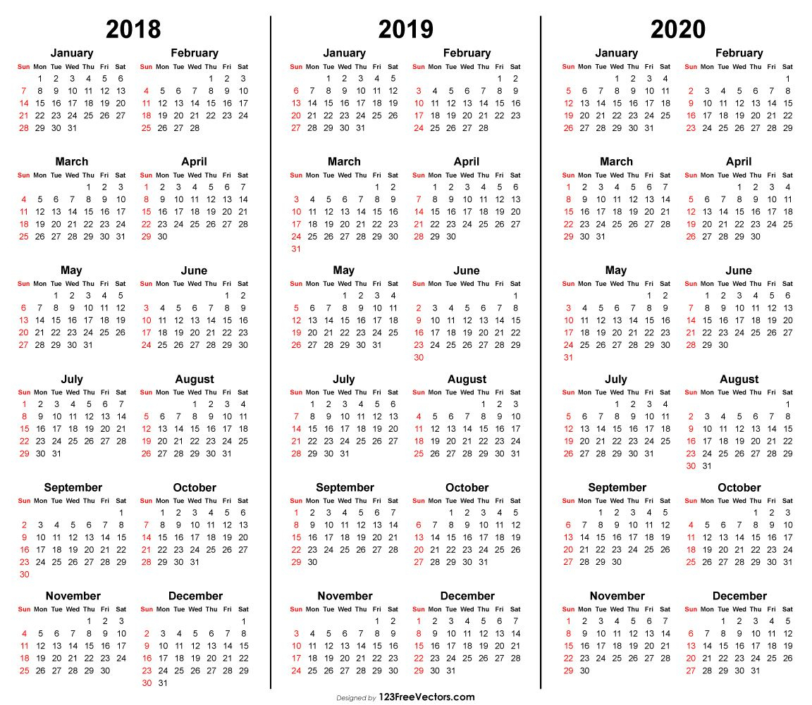 Календарь 2020 Года Скачать  Bagno.site for 3 Year Calendar 2020 To 2021 Printable