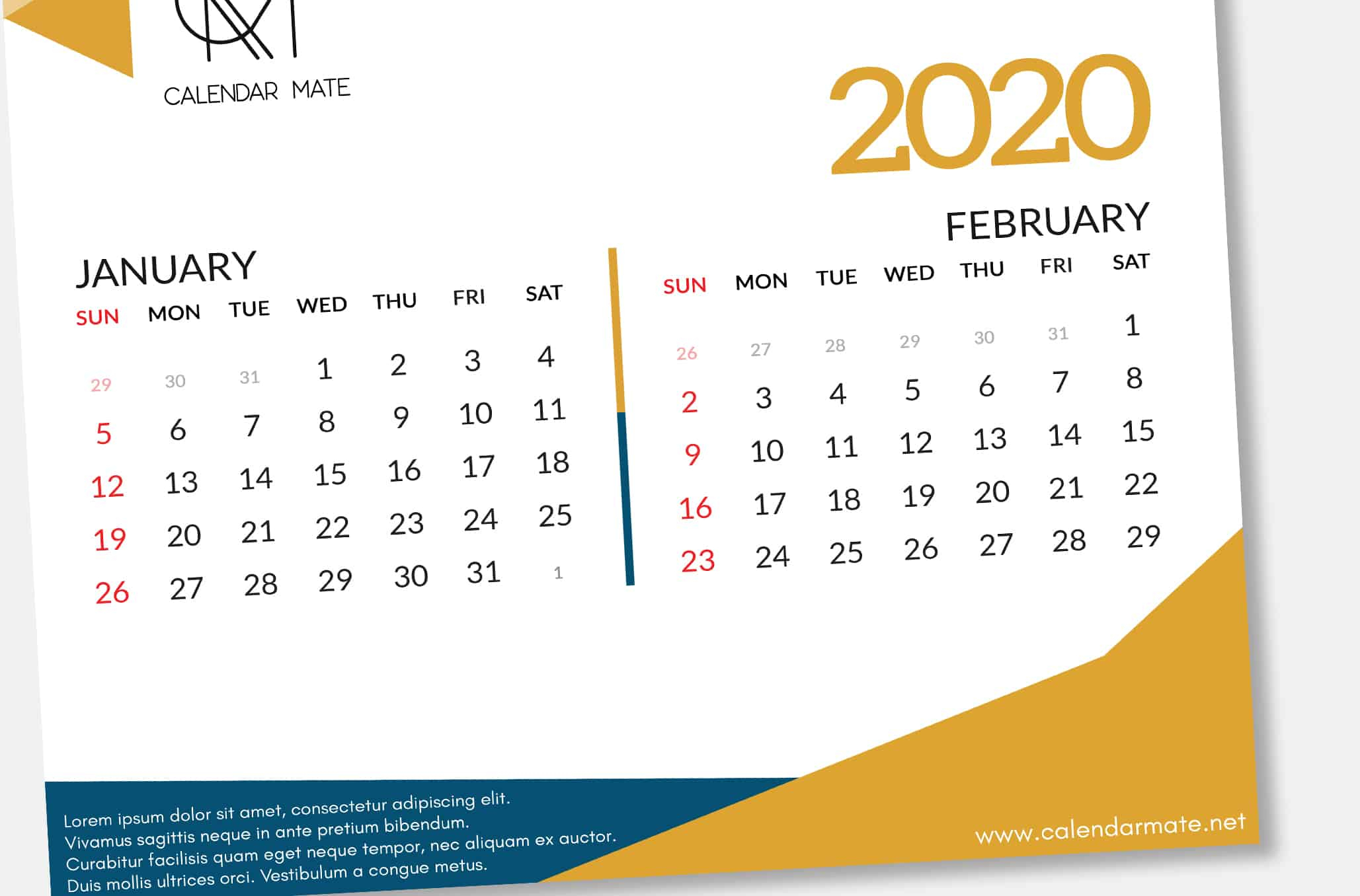 Календарь 2020 Psd  Bagno.site pertaining to 2020 Calendar Psd File