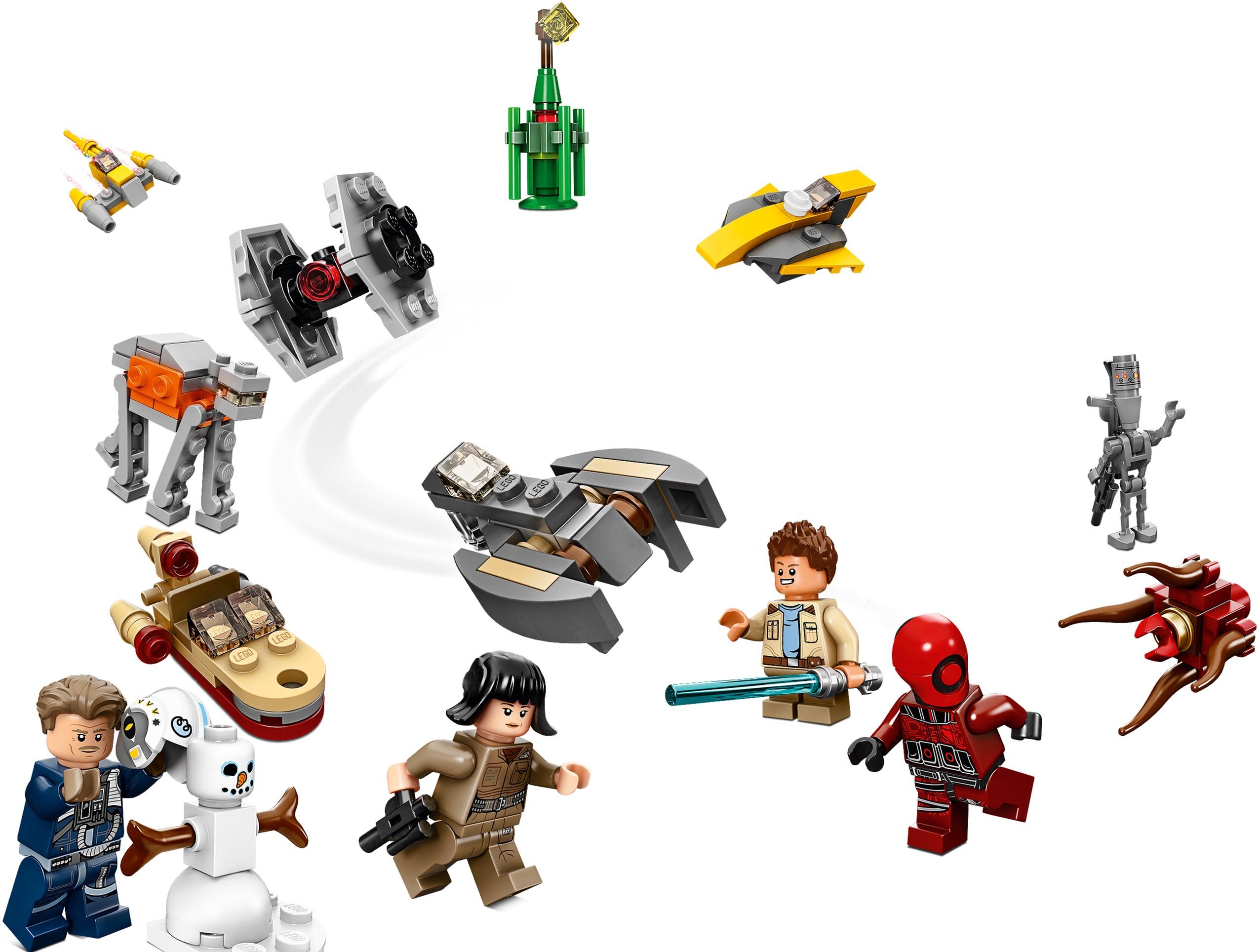Конструктор Lego Star Wars Новогодний Календарь 307 Деталей (75213)  (5702016112078) intended for Lego 75213 Instructions