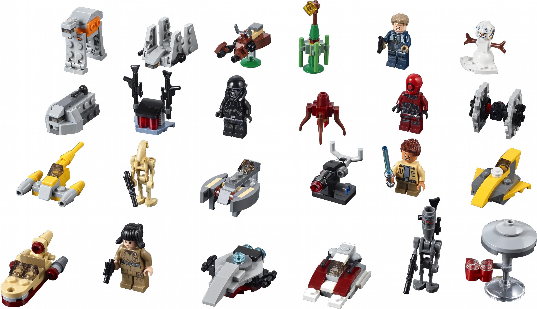 Конструктор Lego Star Wars Новогодний Календарь 307 Деталей (75213)  (5702016112078) with Lego 75213 Instructions