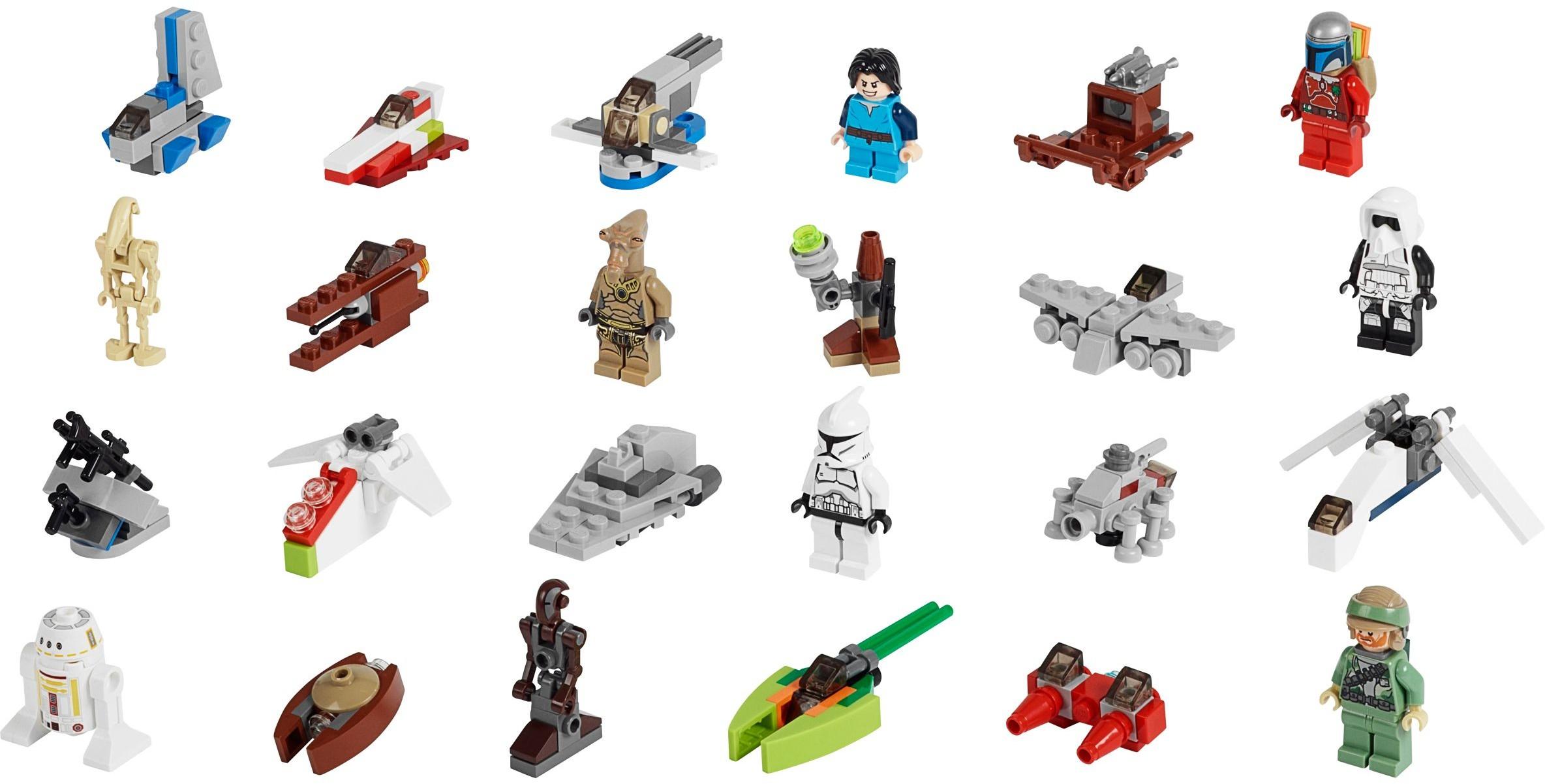 Лего 75023 Star Wars Advent Calendar regarding Lego Star Wars Calendar 2013