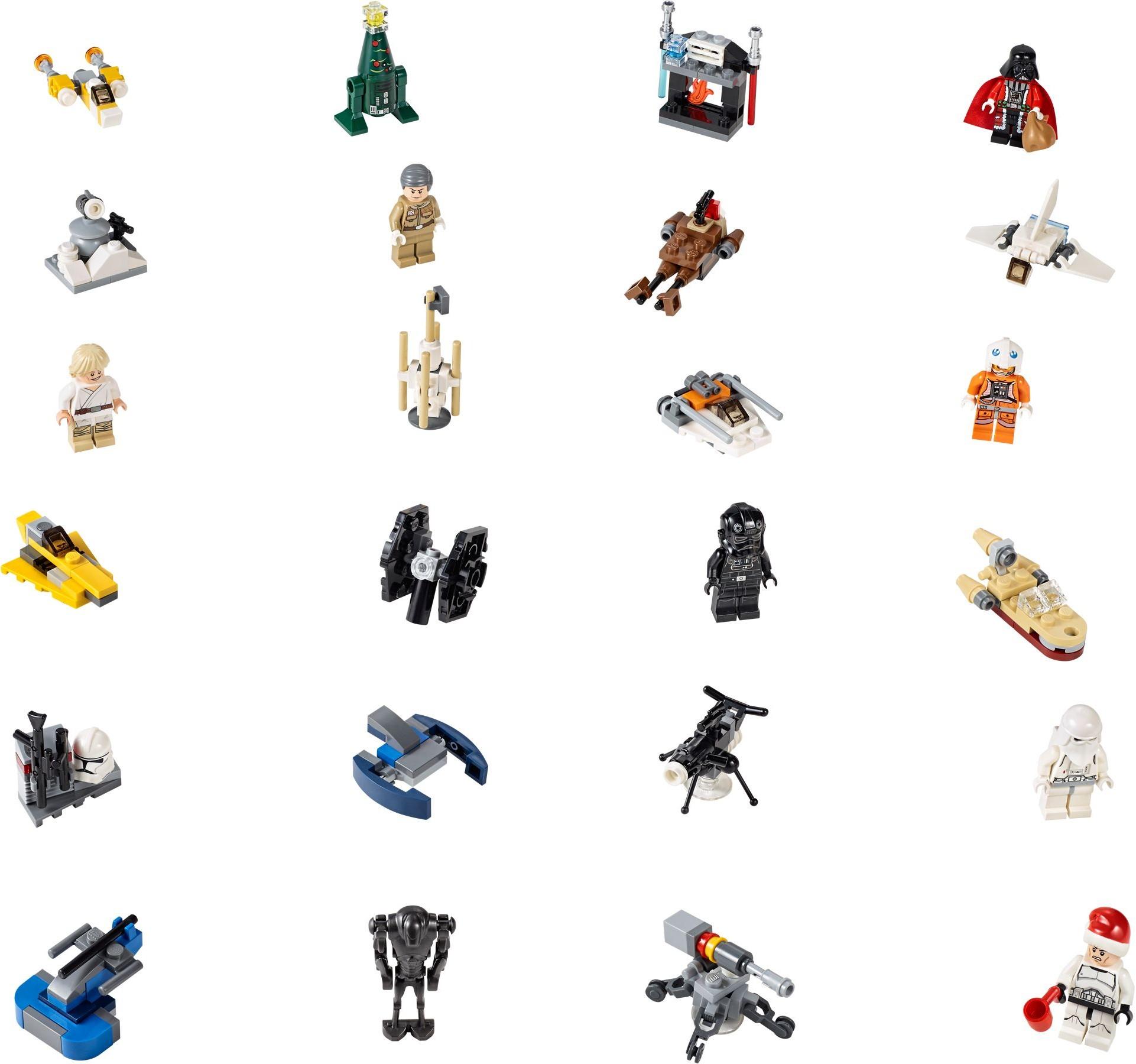 Лего 75056 Star Wars Advent Calendar with Lego 75213 Instructions