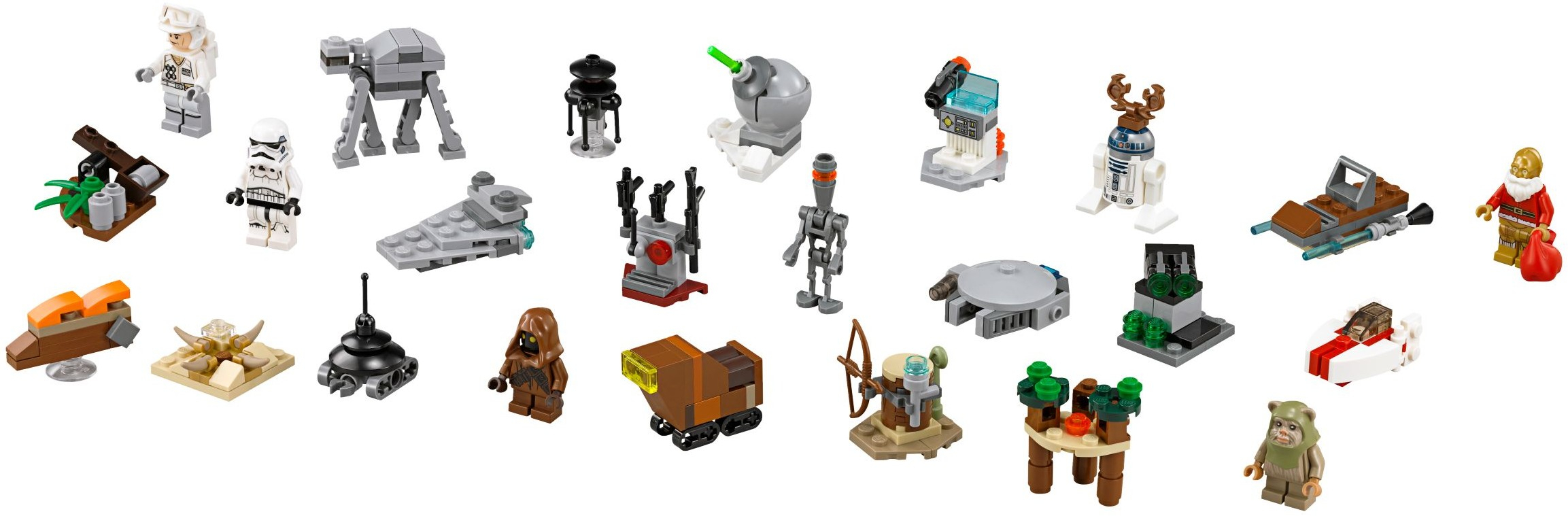 Лего 75097 Star Wars Advent Calendar with Lego 75213 Instructions