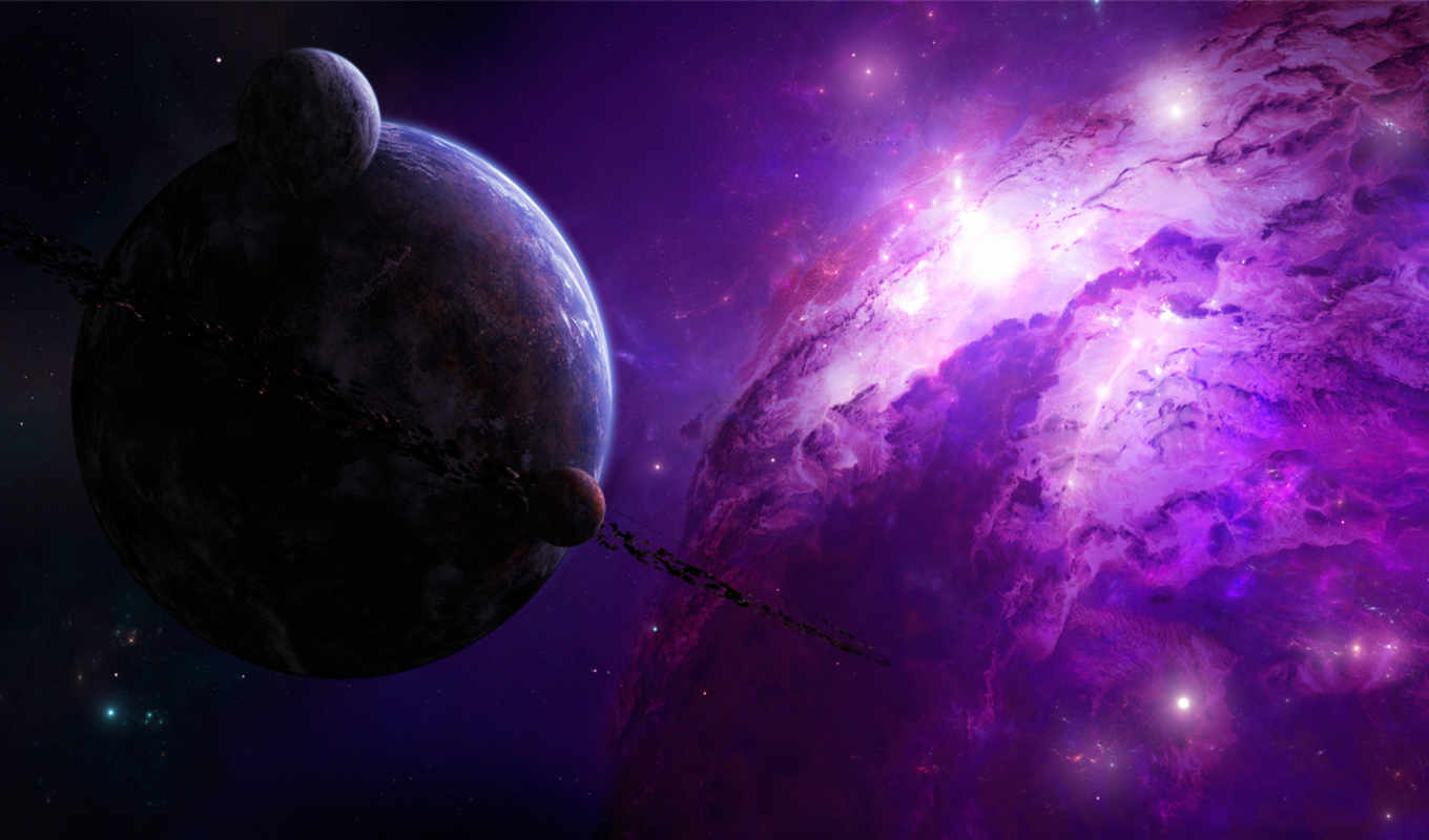 Обои Universe, Space, Purple , Раздел Космос, Размер pertaining to Space Related Pictures