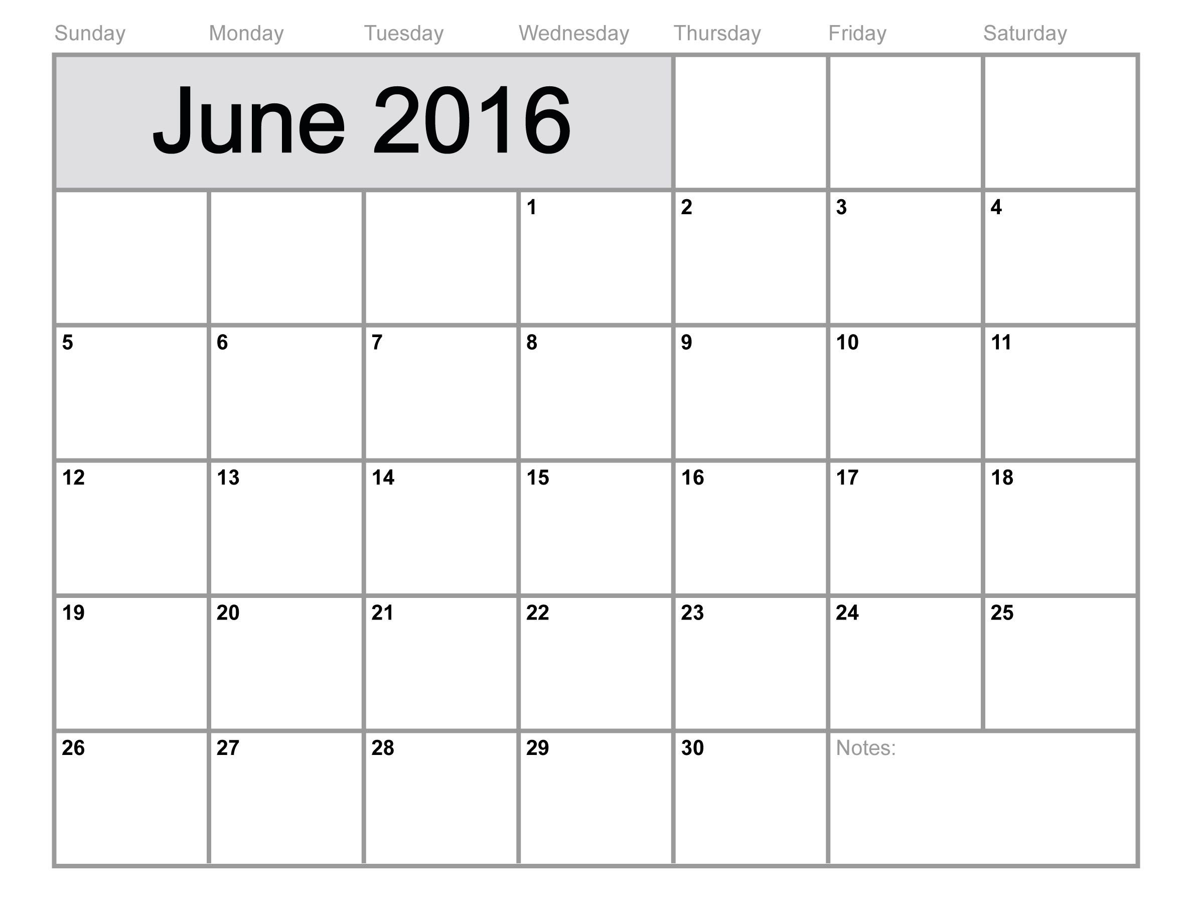 Пин От Пользователя Victoria Gutanu На Доске Calendar 2016 in June 2016 Calendar Printable