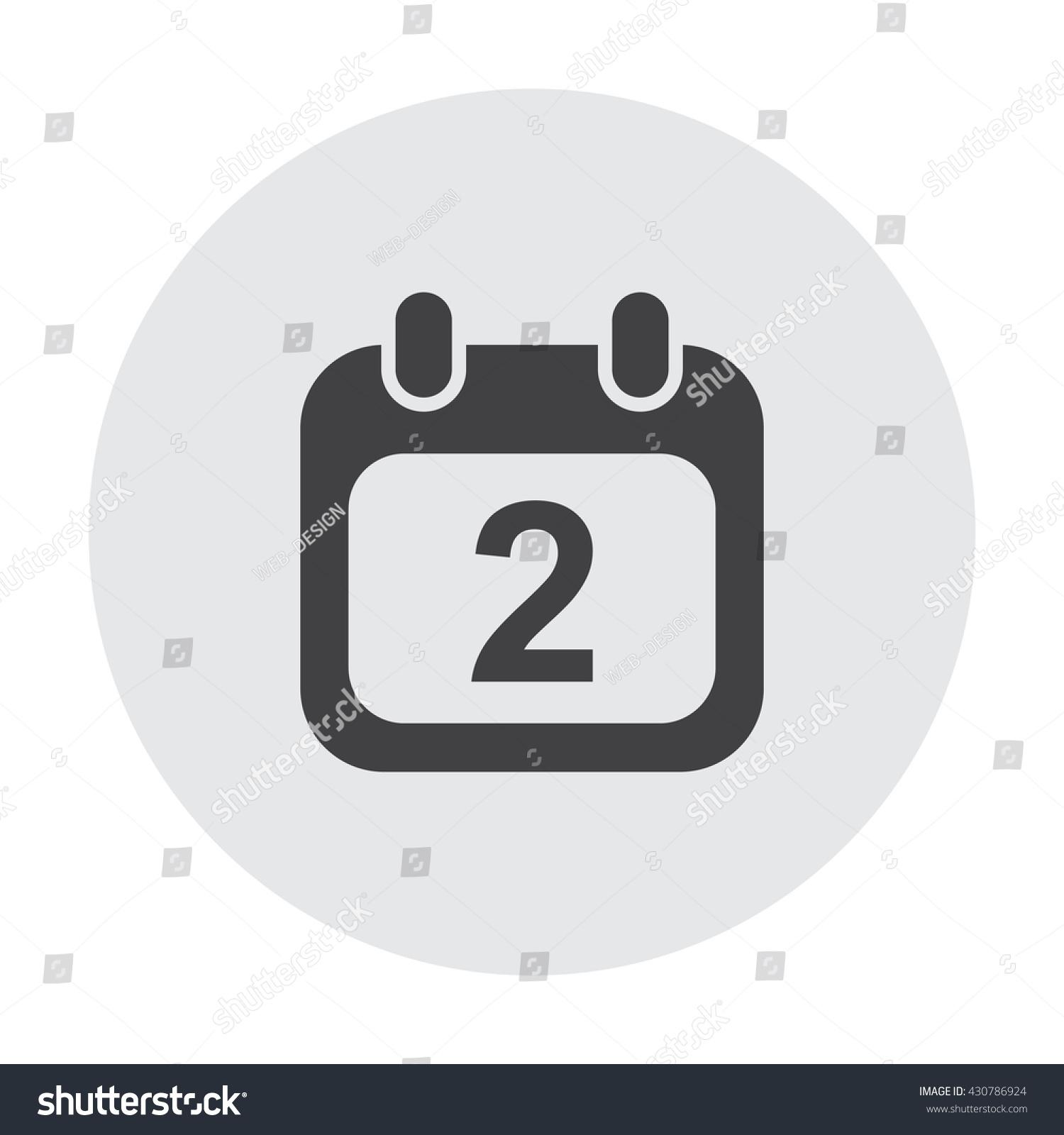 Стоковая Векторная Графика «Calendar Icon Jpg» (Без for Calendar Icon Jpg