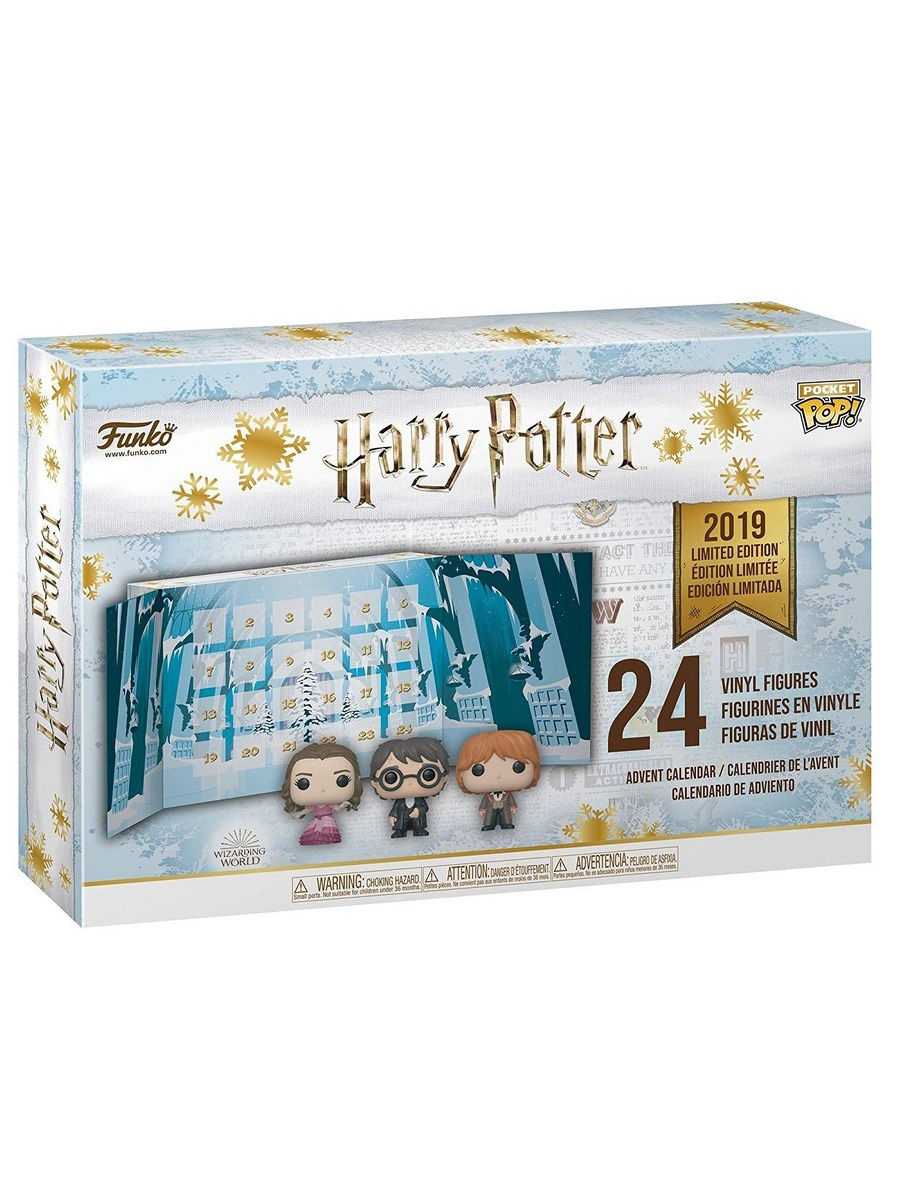 Фигурки Vinyl Figure: Advent Calendar: Hp 24Pc (Pkt Pop), Funko in Bts Advent Calendar