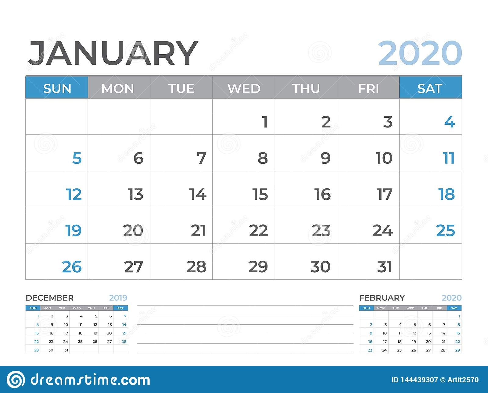 Шаблон Календаря Января 2020, Размер Плана Настольного pertaining to Kalendar Kuda March 2020