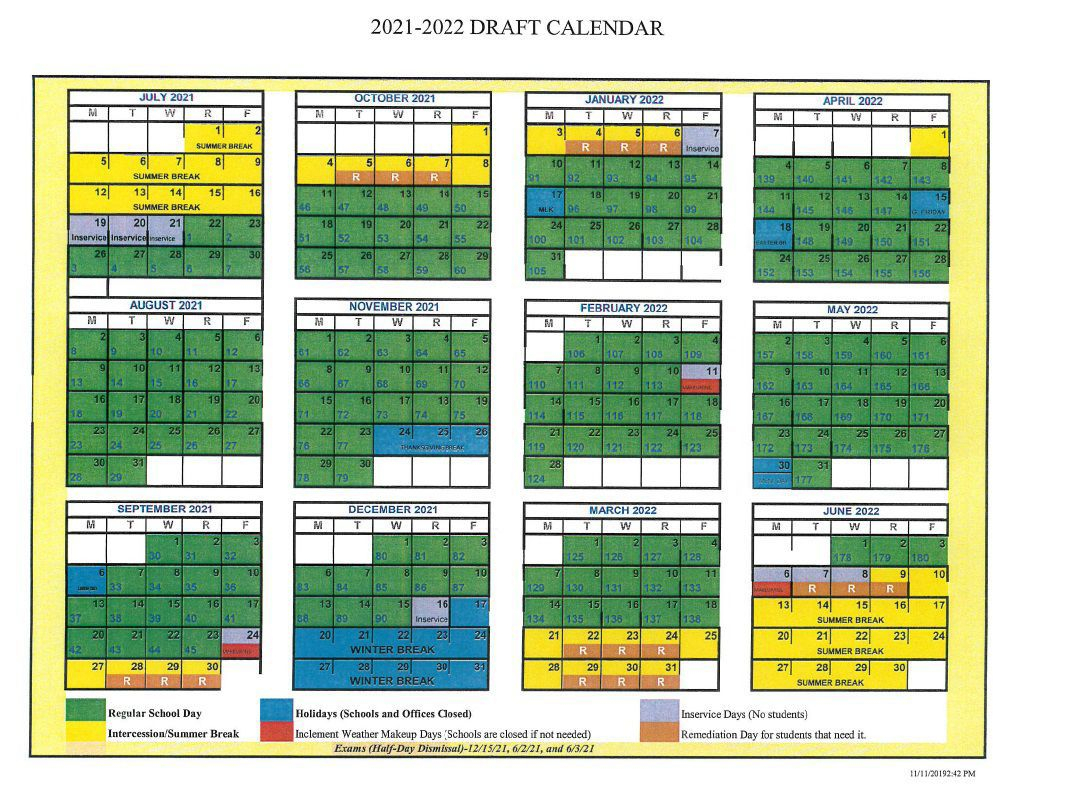 D50 Proposes Delaying Modified Calendar To 202122 throughout Tl Hanna School Calendar