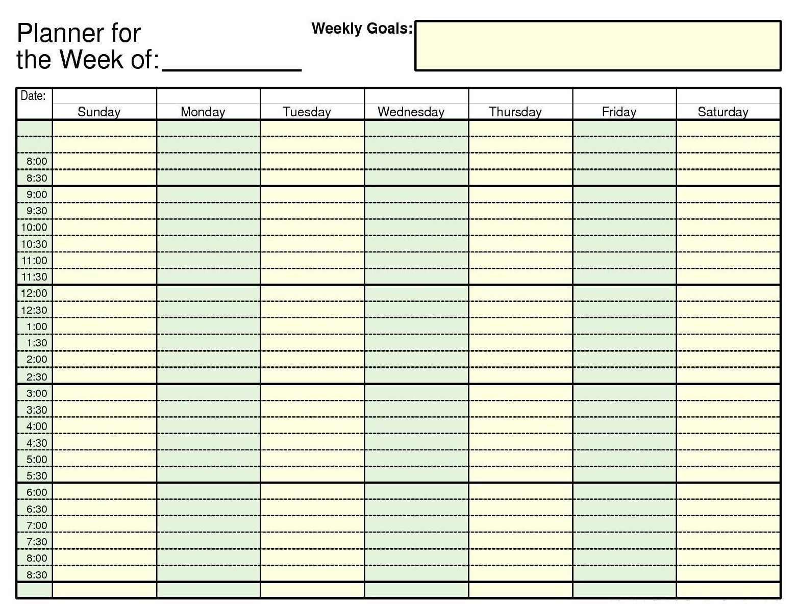 Daily Calendar Template Excel Sheet | Excel Calendar within Daily Calendar Template With Time Slots