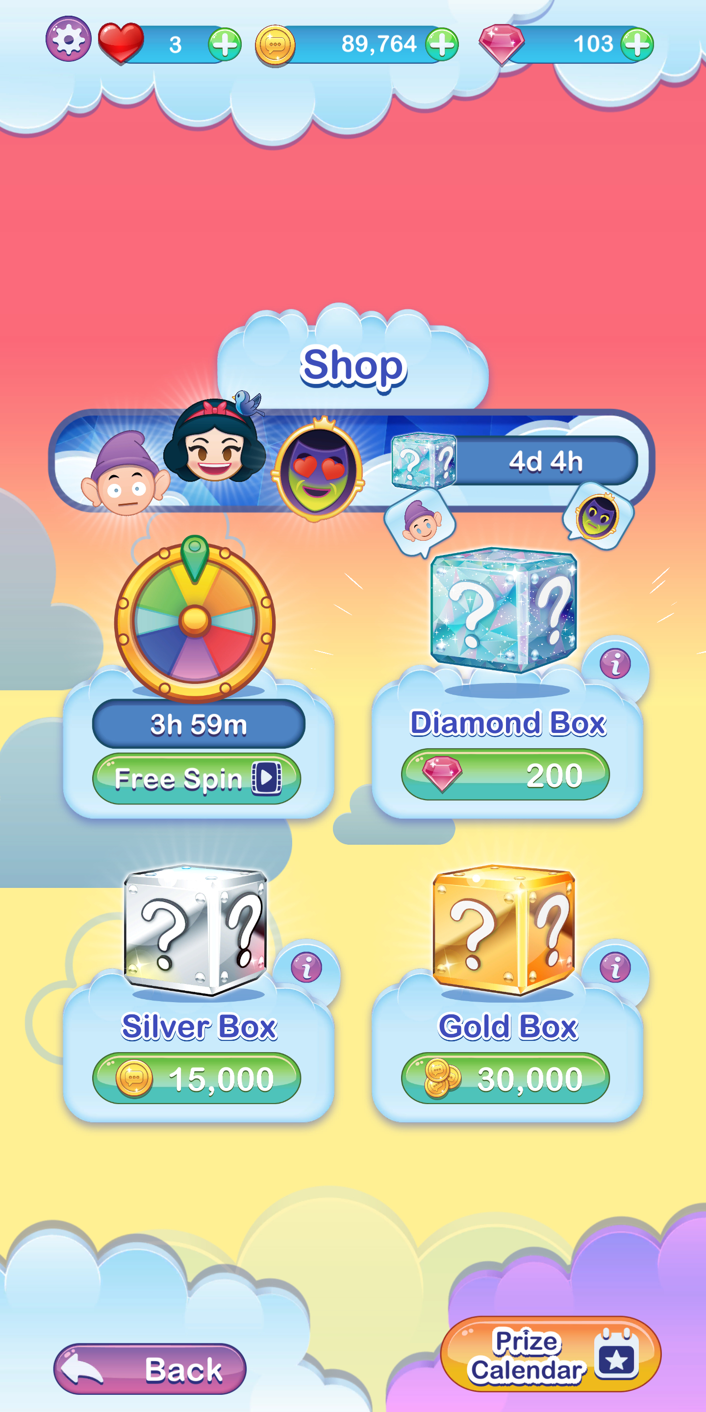 Daily Calender Never Saw This So I Thought I'd Post. I in Emoji Blitz Event Calendar