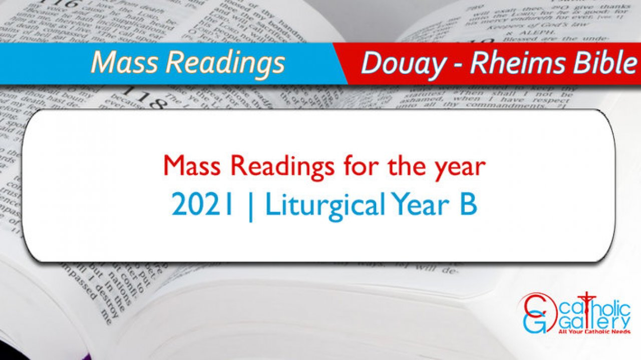 Daily Mass Readings – 2021  Catholic Gallery with Catholic Liturgical Calendar 2020 With Daily Readings