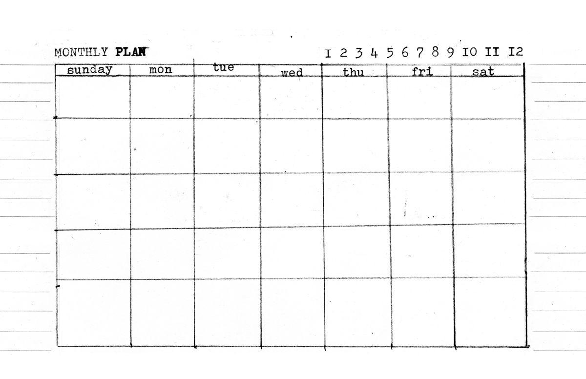 Day, Week, Month  5.5 X 8.5 Templates | Planner Template regarding Printable Calendar 5.5 X 8.5