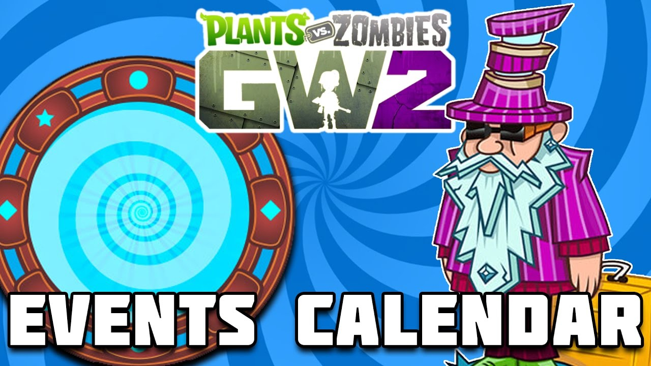 December Events Calendar  Plants Vs Zombies Garden Warfare 2 within Plants Vs Zombies Garden Warfare 2 Calendar