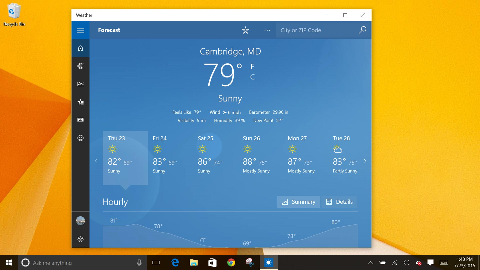 Deepdive Review: Windows 10  Worth The Wait | Network World for Add Google Calendar To Taskbar Windows 10