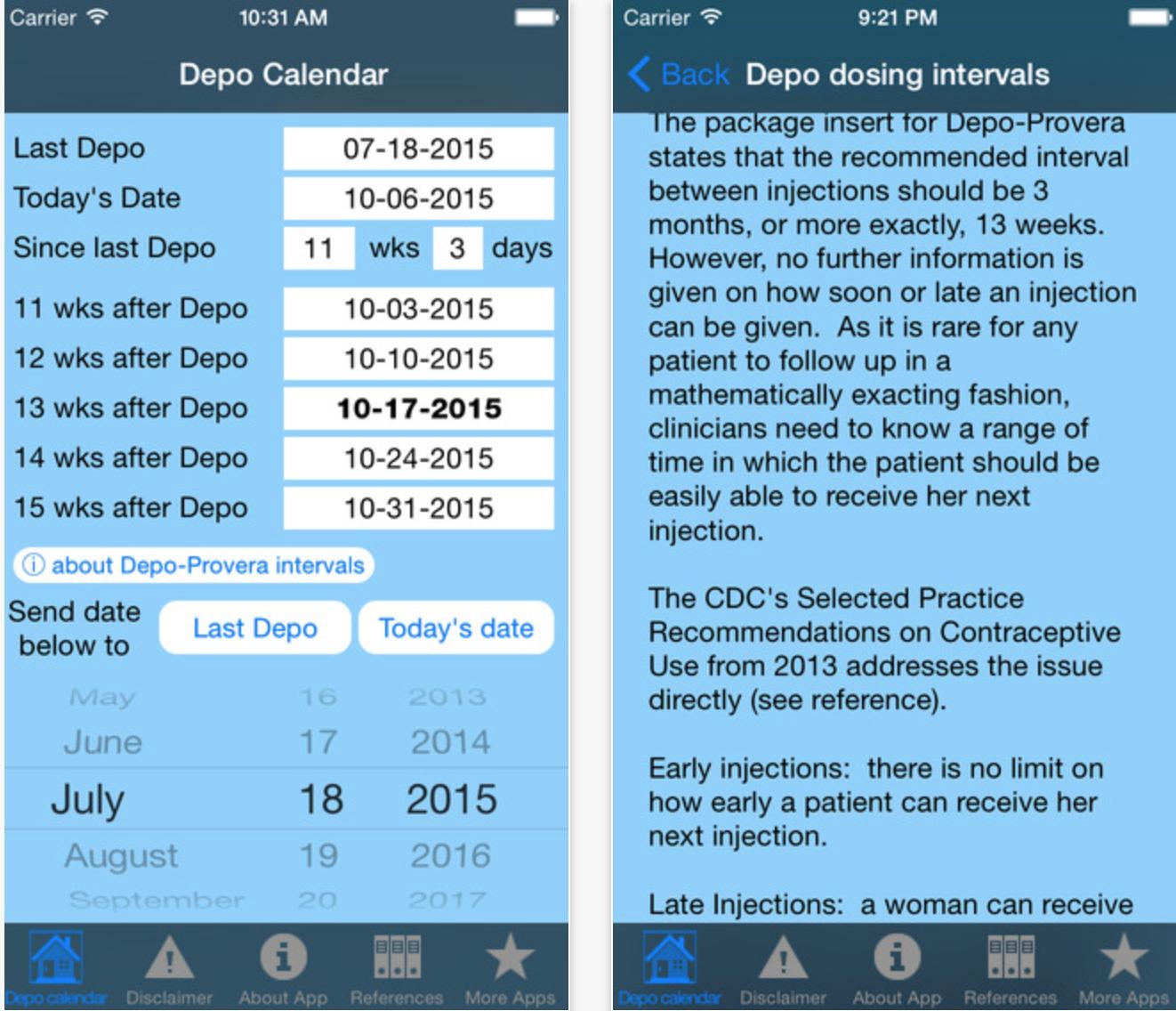 Depo Calendar App Could Significantly Improve Contraception inside Depo Provera Calendar 2020
