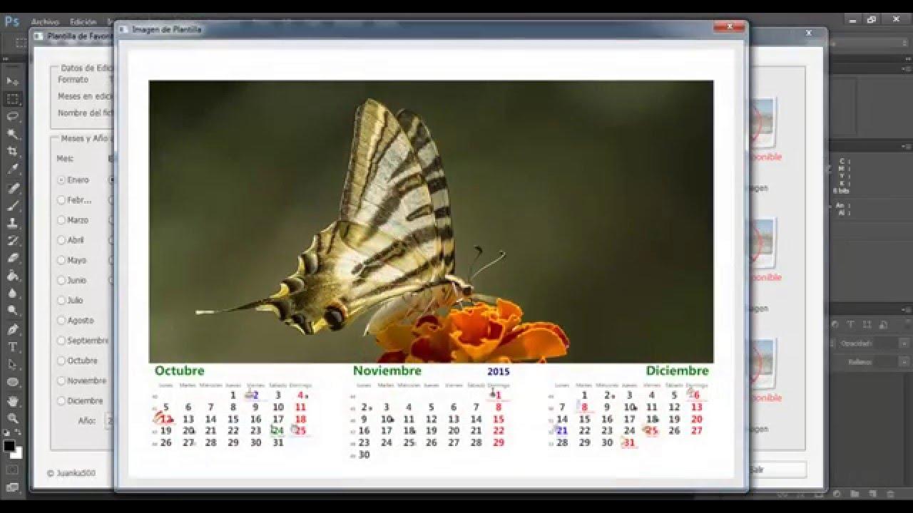 Descarga E Instalacion Script Calendario Photoshop inside Script Calendario Photoshop