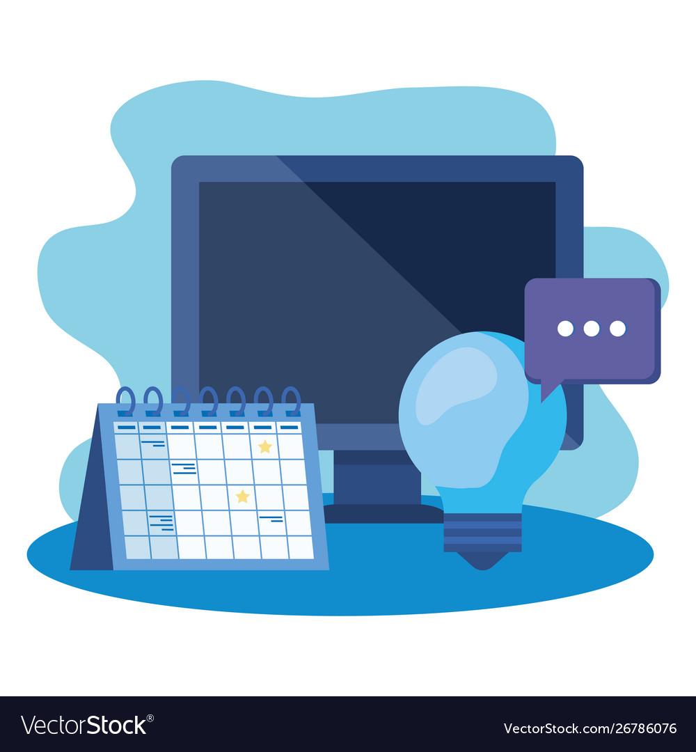 Desktop Computer With Calendar Reminder inside Calendar Reminder For Desktop
