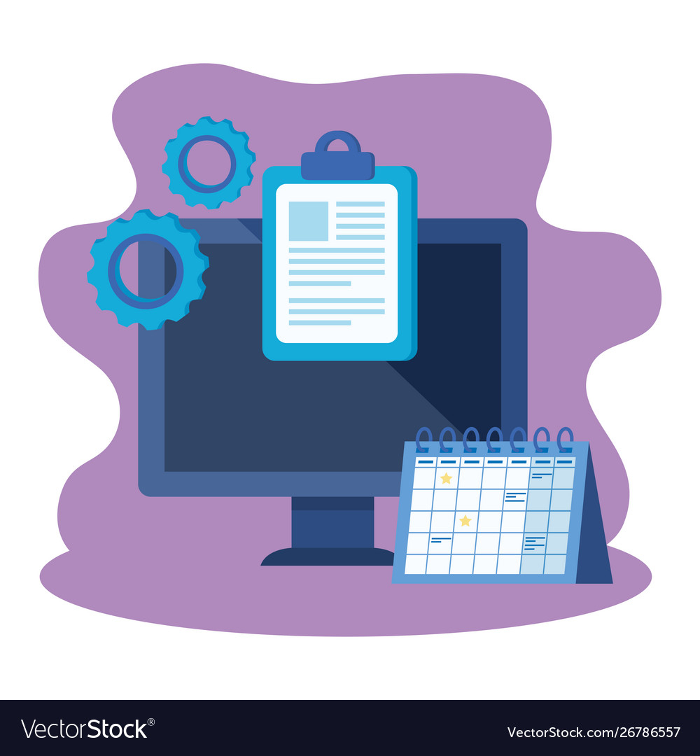 Desktop Computer With Calendar Reminder throughout Calendar Reminder For Desktop
