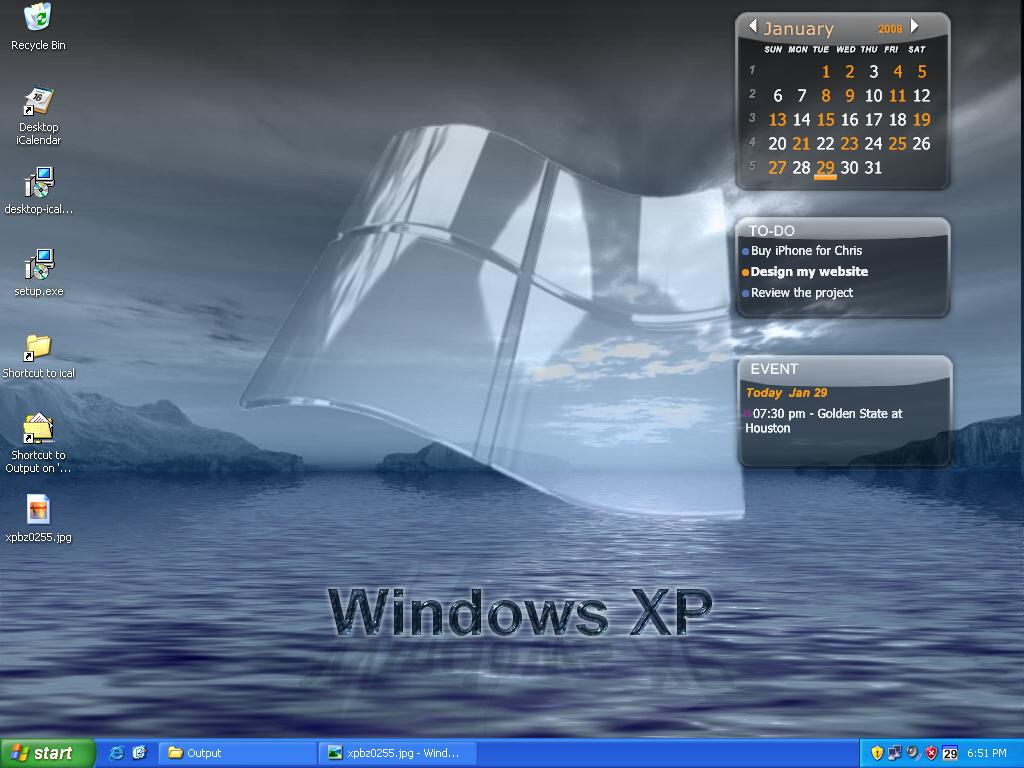 Desktop Icalendar Lite Screenshot  Windows 8 Downloads inside Calendar Reminder For Desktop