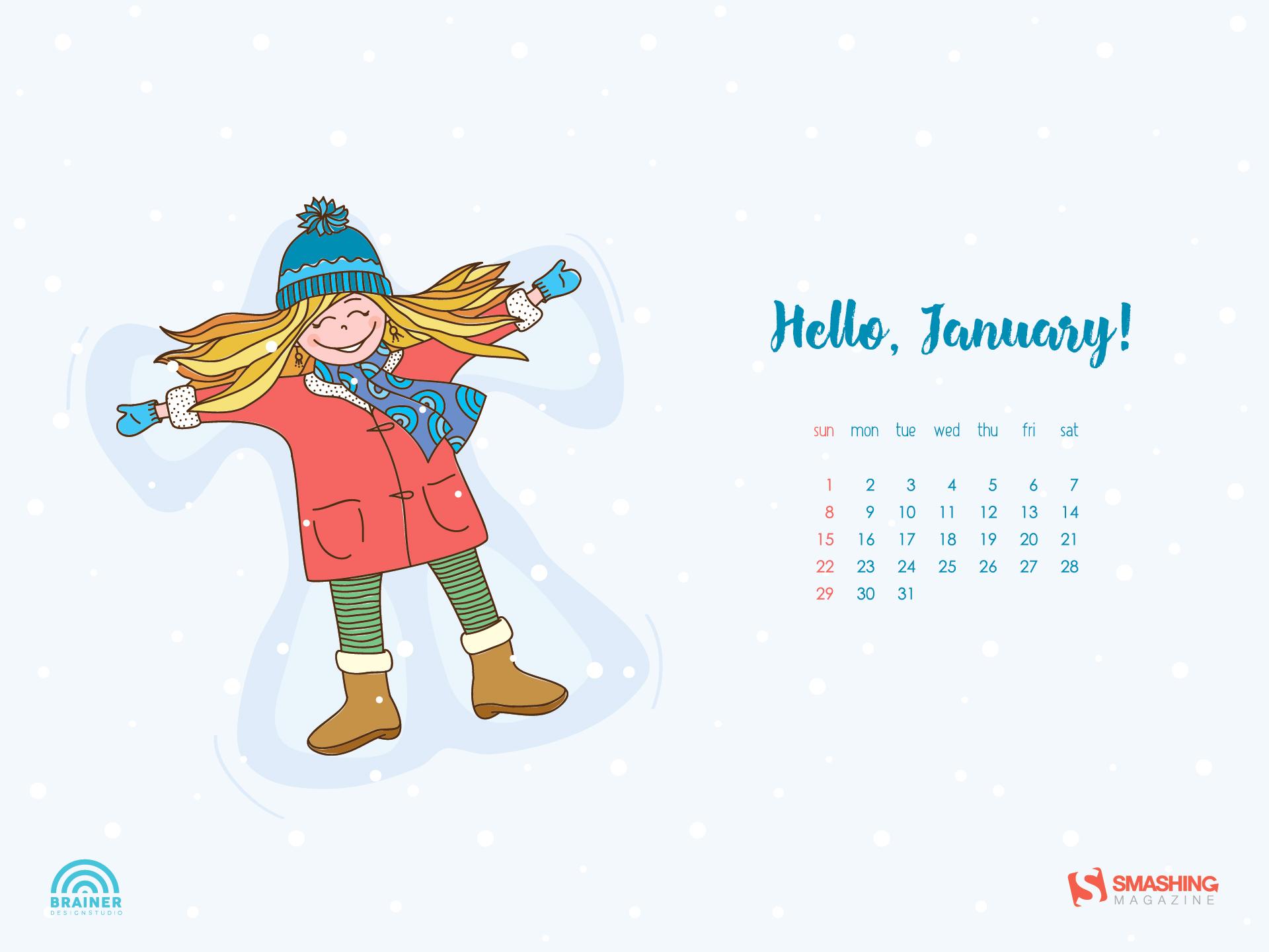 Desktop Wallpaper Calendars: January 2017 — Smashing Magazine with regard to Smashing Magazine Calendar
