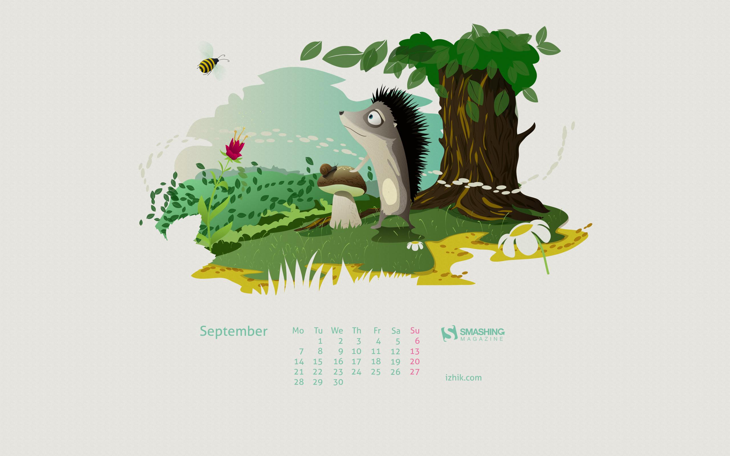 Desktop Wallpaper Calendars: September 2015 — Smashing Magazine with regard to Smashing Magazine Calendar