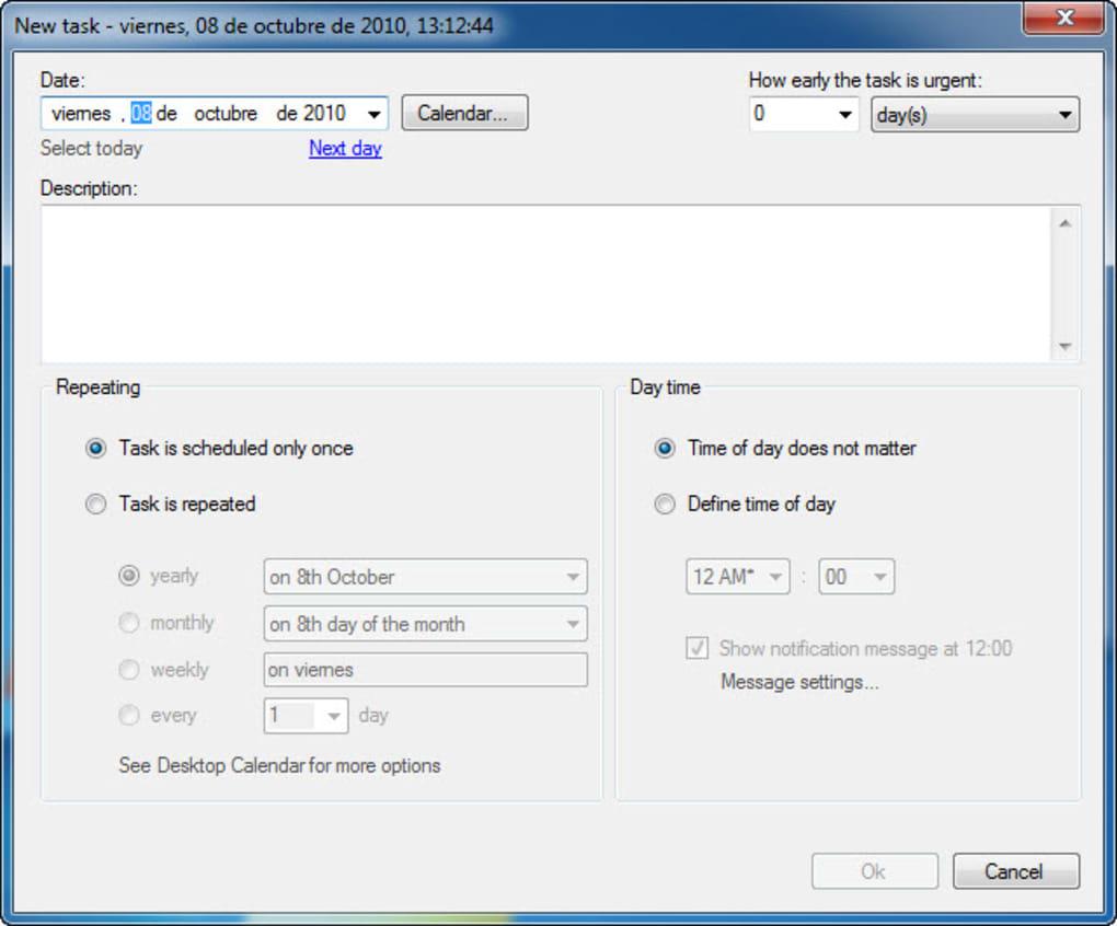 Desktopreminder  Download with Desktop Reminder Gadget
