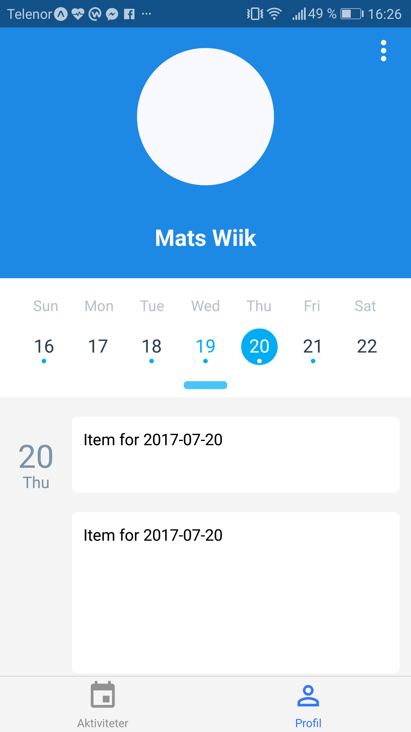 Different Calendar Sizes On Agenda · Issue #105 · Wixreact inside React Native Agenda