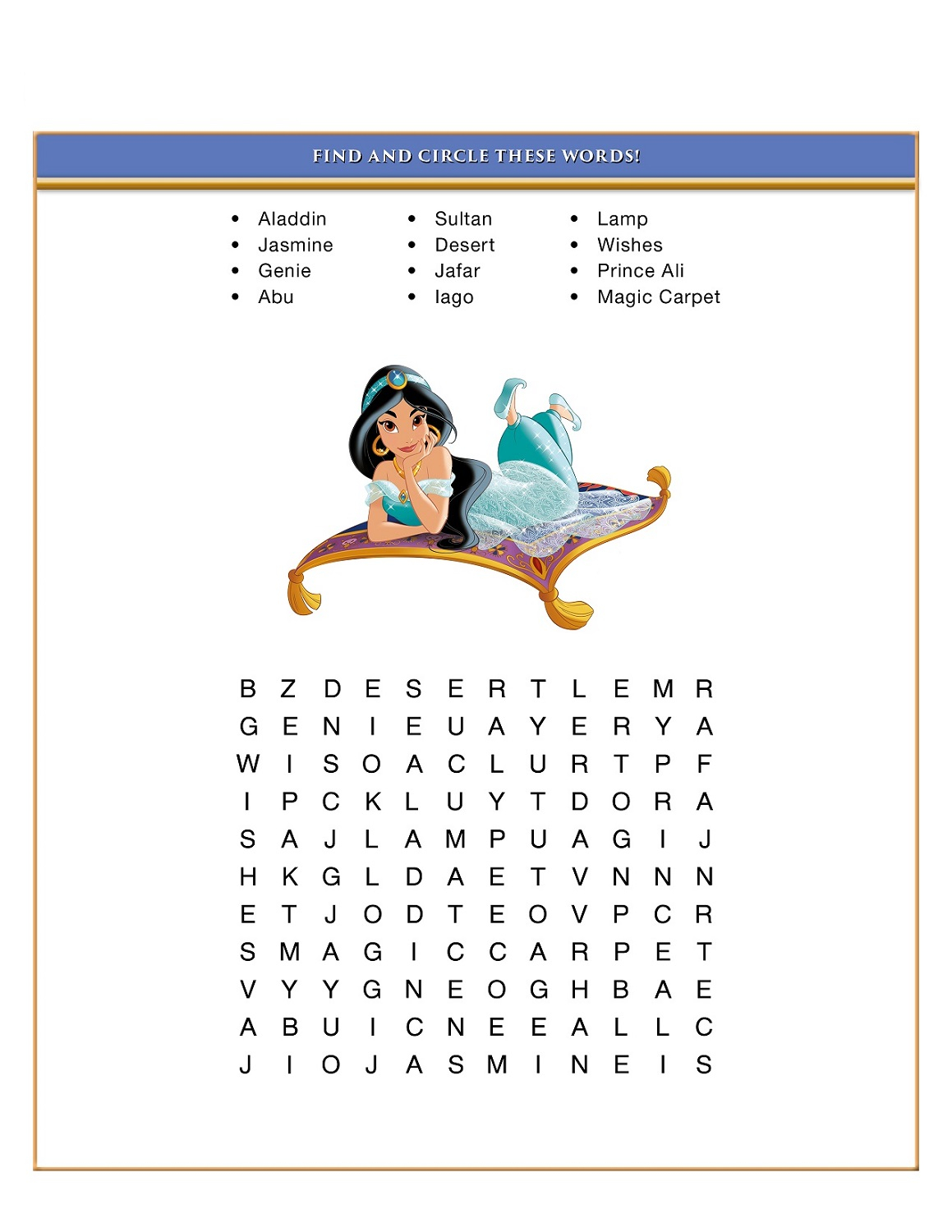 Disney Word Search Puzzles | Printable Shelter with regard to Free Disney Word Search