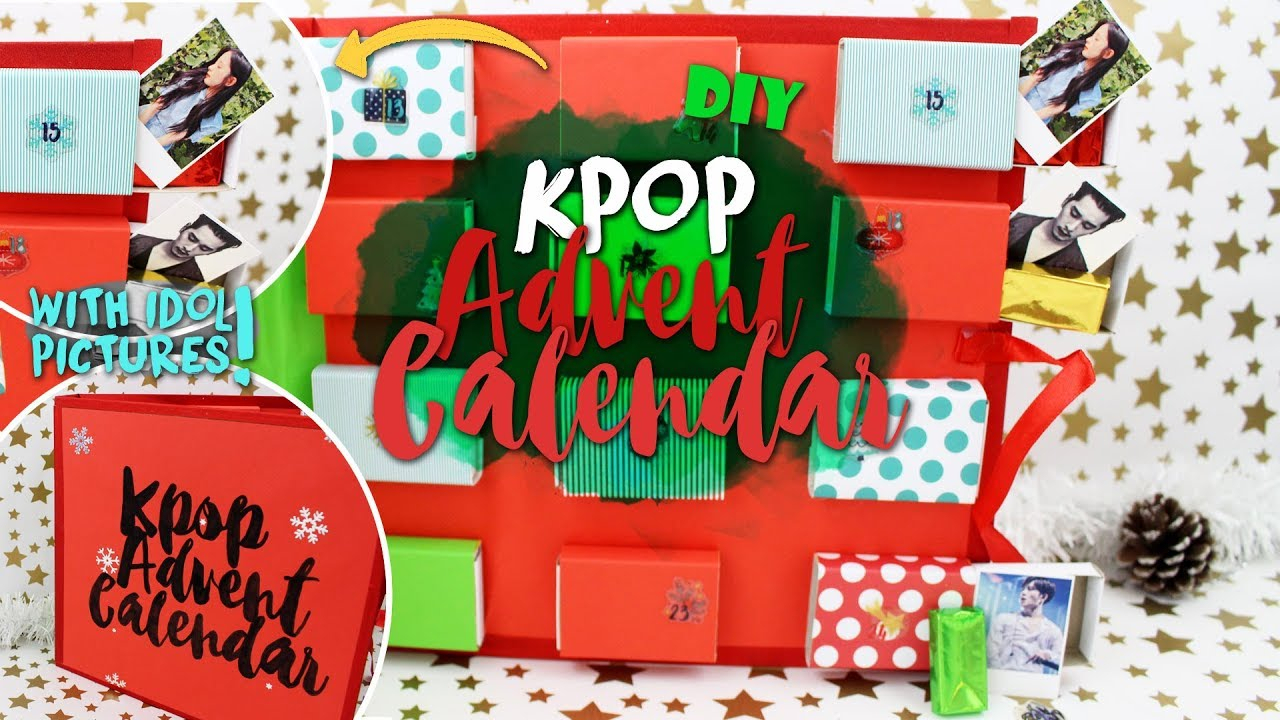 Diy Kpop: Kpop Advent Calendar |Kfreakenglish| Exo, Bts, 2Pm, Ftisland,  Svt, Btob, Gugudan, Etc pertaining to Bts Advent Calendar