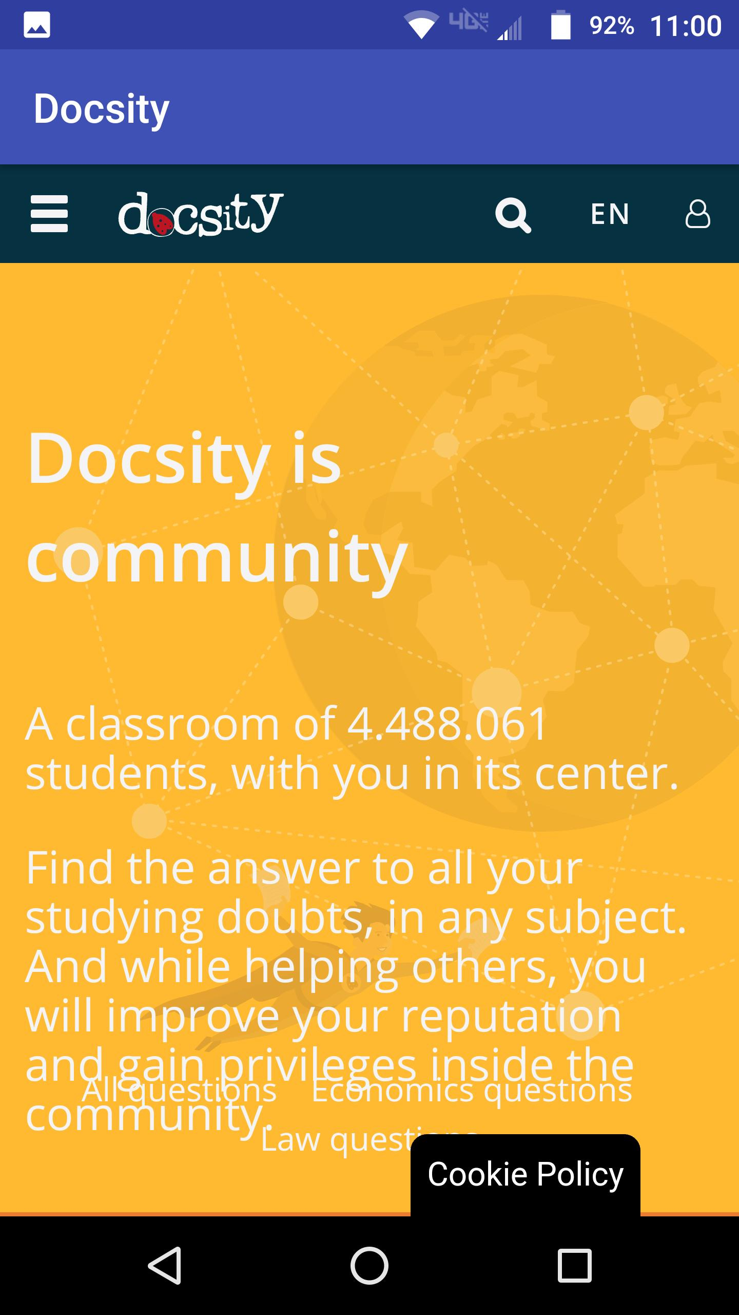 Docsity For Android  Apk Download for Download From Docsity