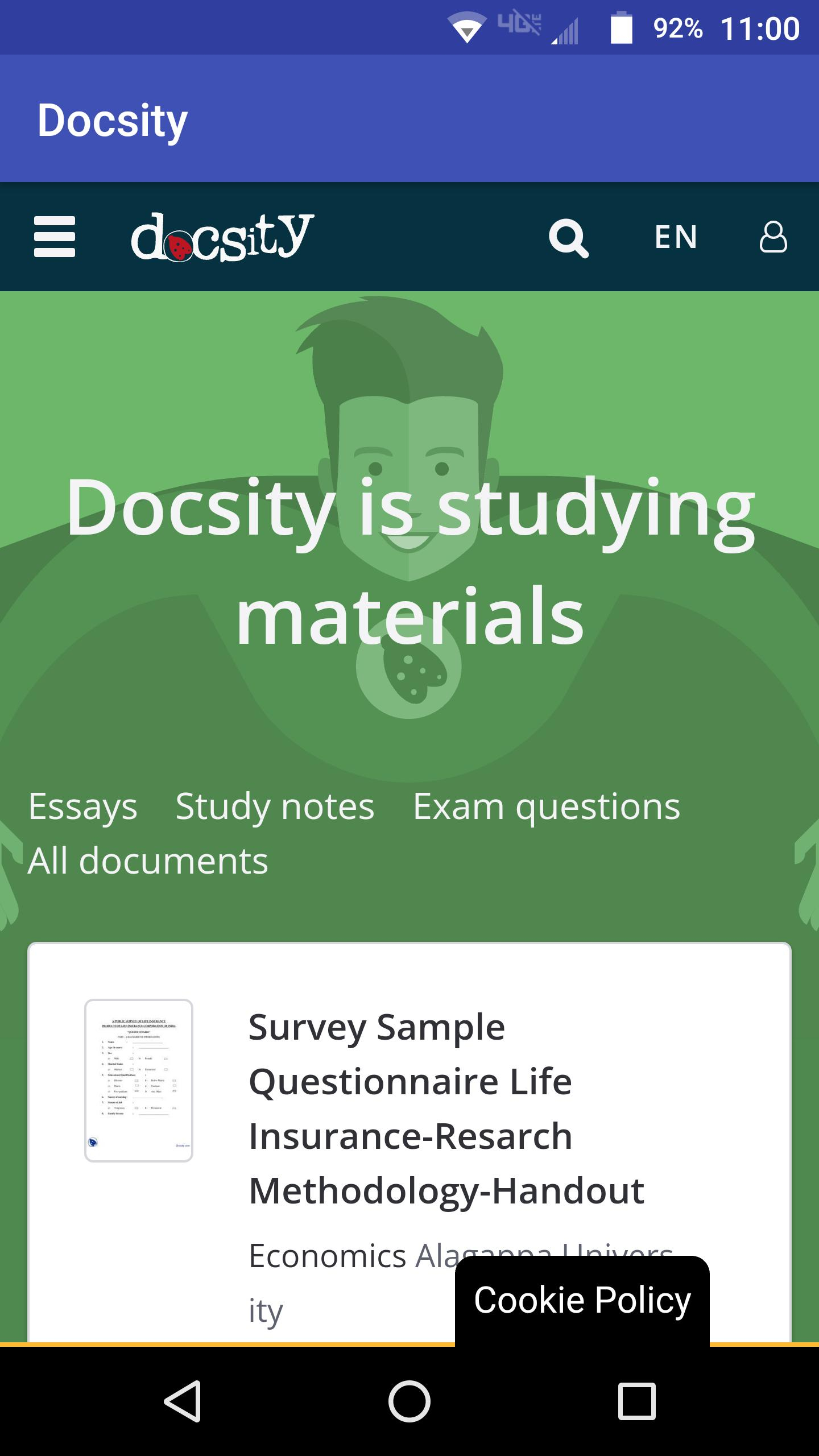 Docsity For Android  Apk Download intended for Download From Docsity