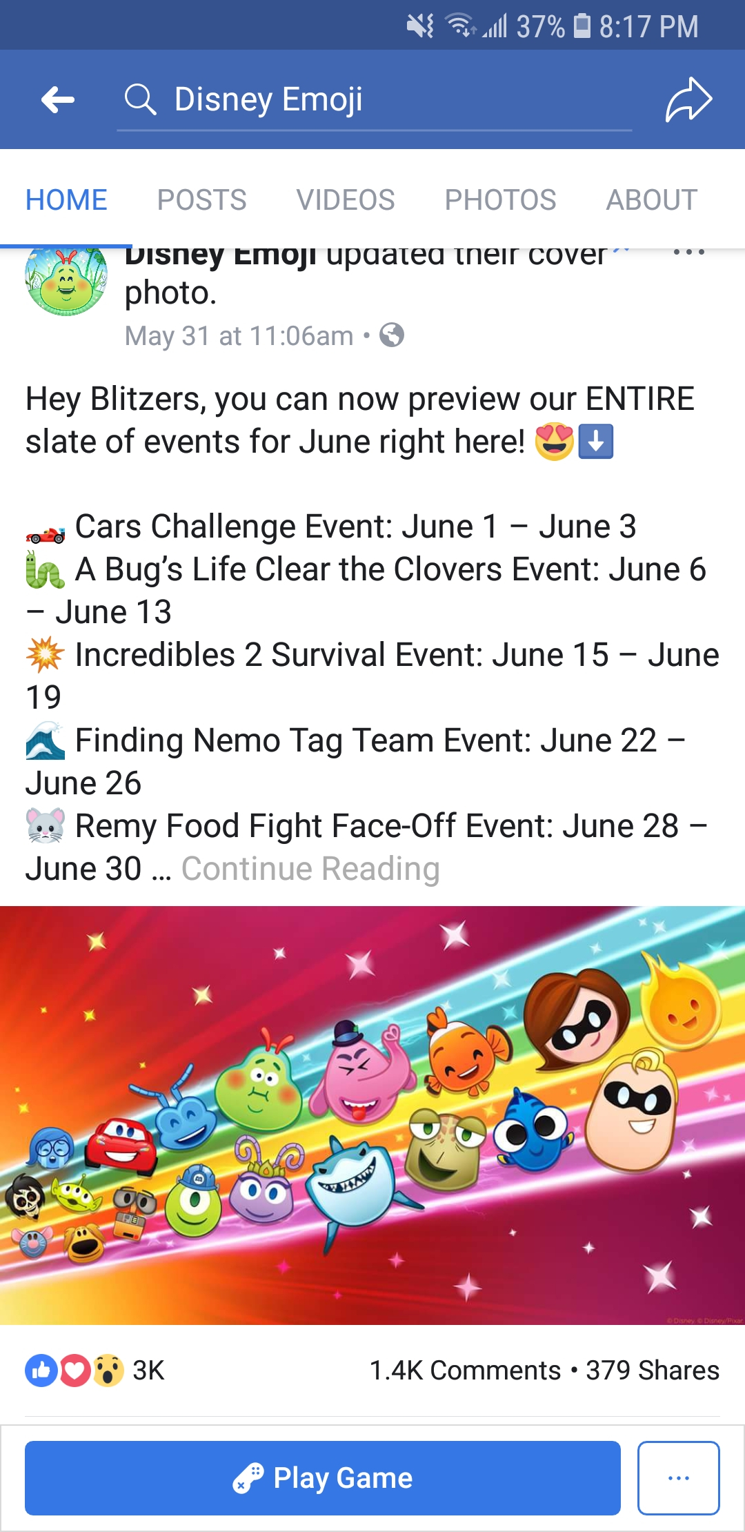 Does Anyone Know What The Tag Team Event Will Look Like with Emoji Blitz Events 2020