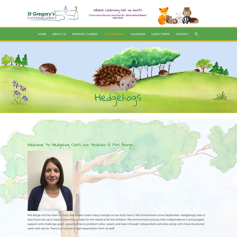 Dorset School Website Design intended for St Gregorys School Calendar