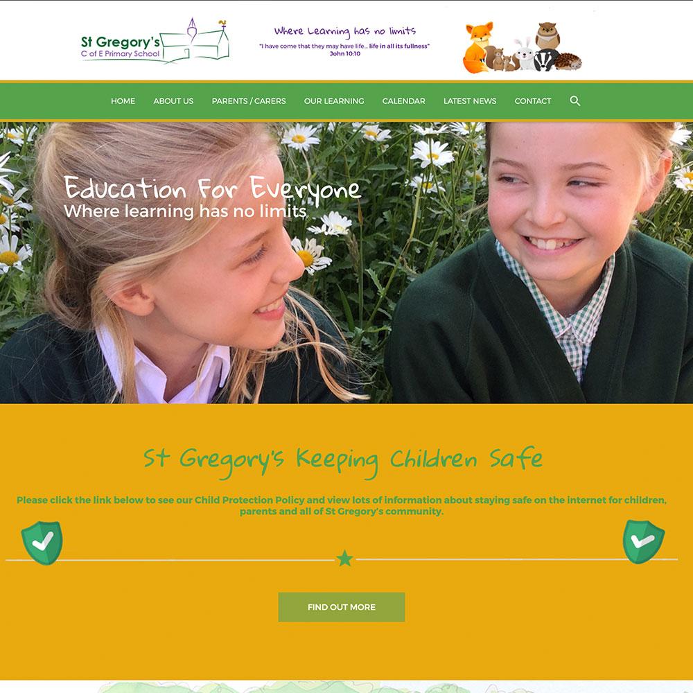 Dorset School Website Design with regard to St Gregorys School Calendar