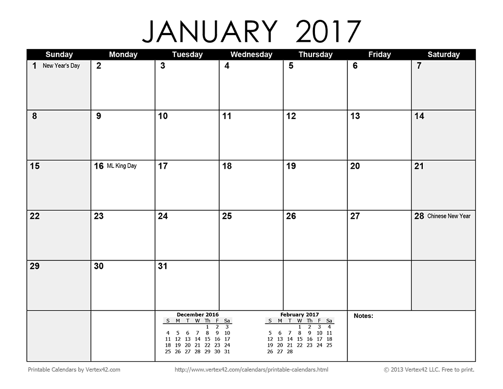 Download A Free Printable Monthly 2017 Calendar From throughout Blank 31 Day Calendar