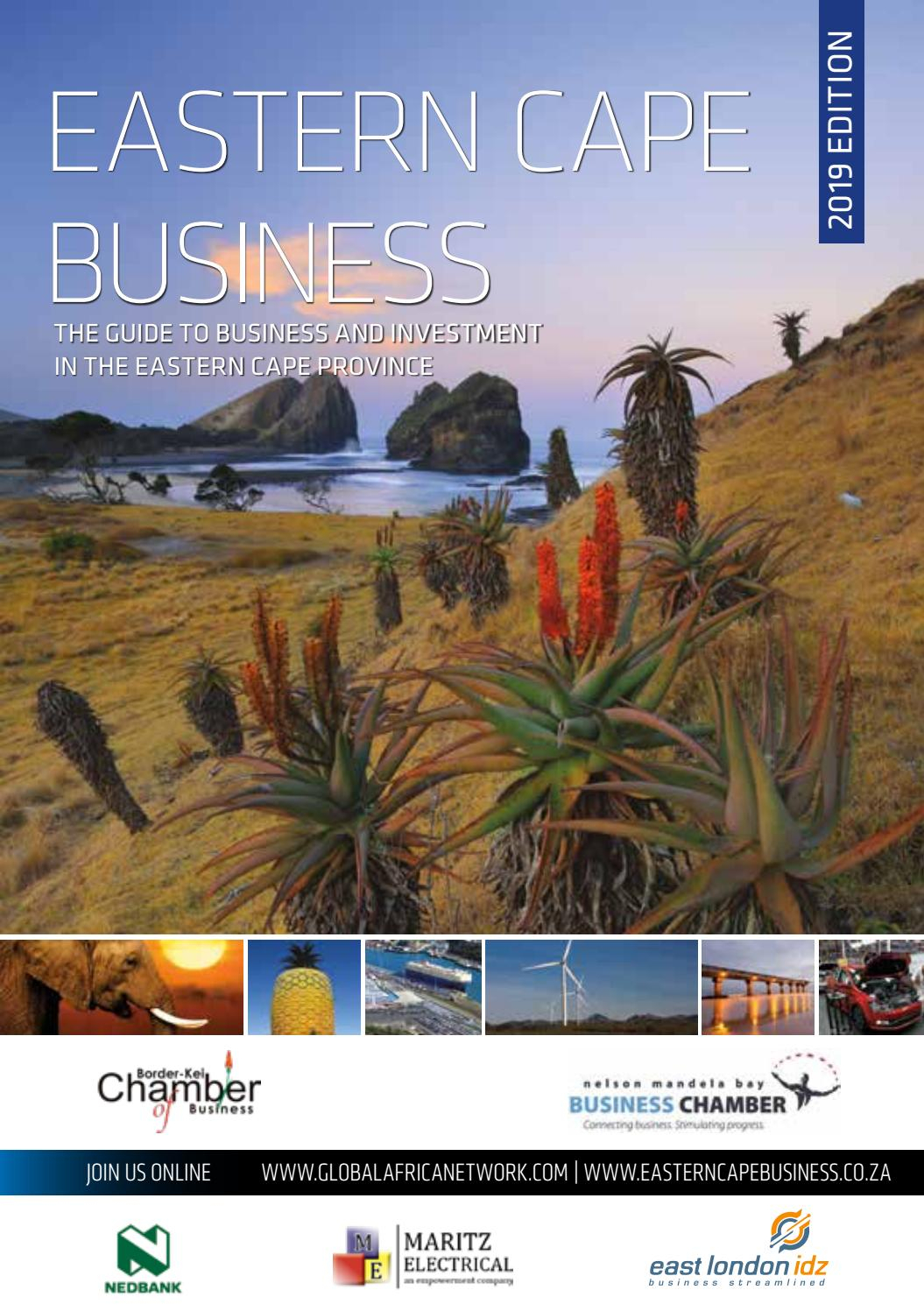 Eastern Cape Business 2019 Edition By Global Africa Network pertaining to Eastern Cape School Calendar