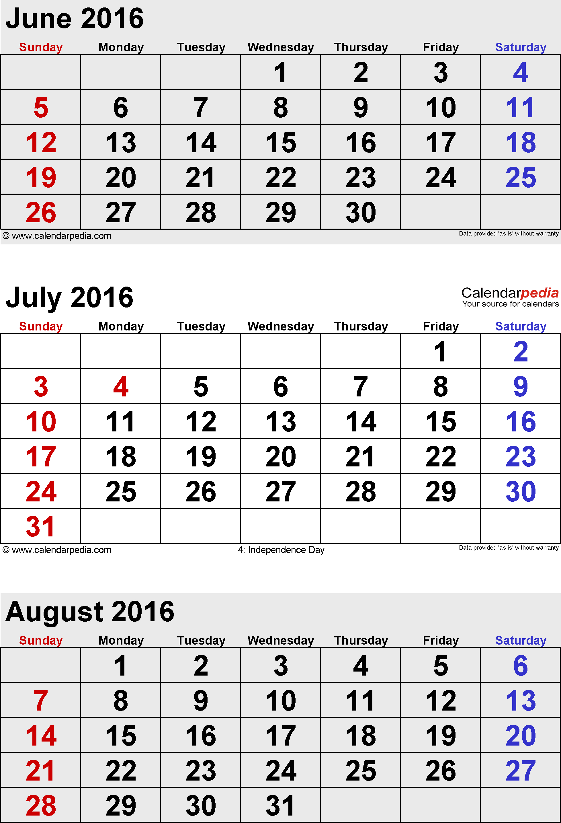 Editable August 2016 Calendar Images On Favim inside July August 2016 Calendar