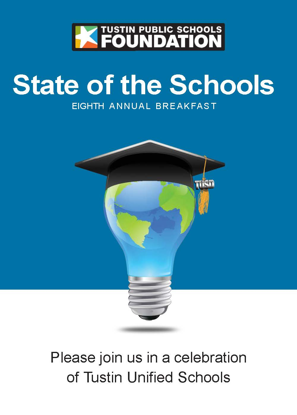 Eighth Annual State Of The Schools Breakfast Set For within Tustin Unified School Calendar