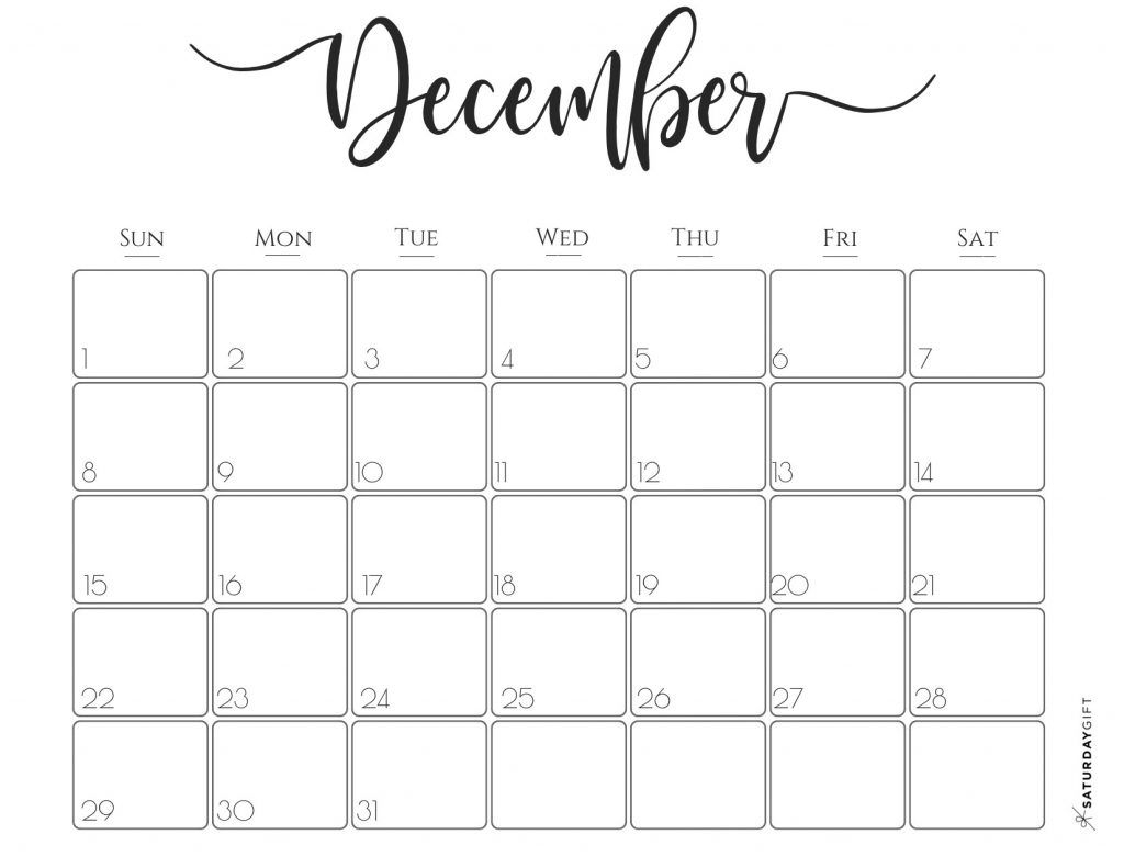 Elegant 2019 Calendar {Free Printables} | Free Printable with Pretty Printable Calendar