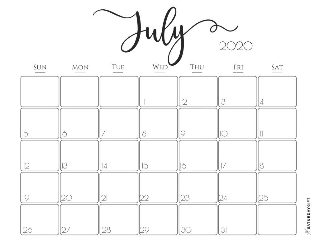 Elegant 2020 Calendar {Free Printables} | Calendar, Free pertaining to Pretty Printable Calendar